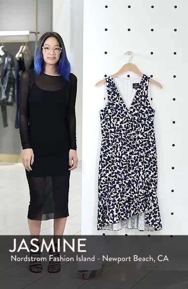 Lady Luck Print Cotton Sateen Dress, sales video thumbnail