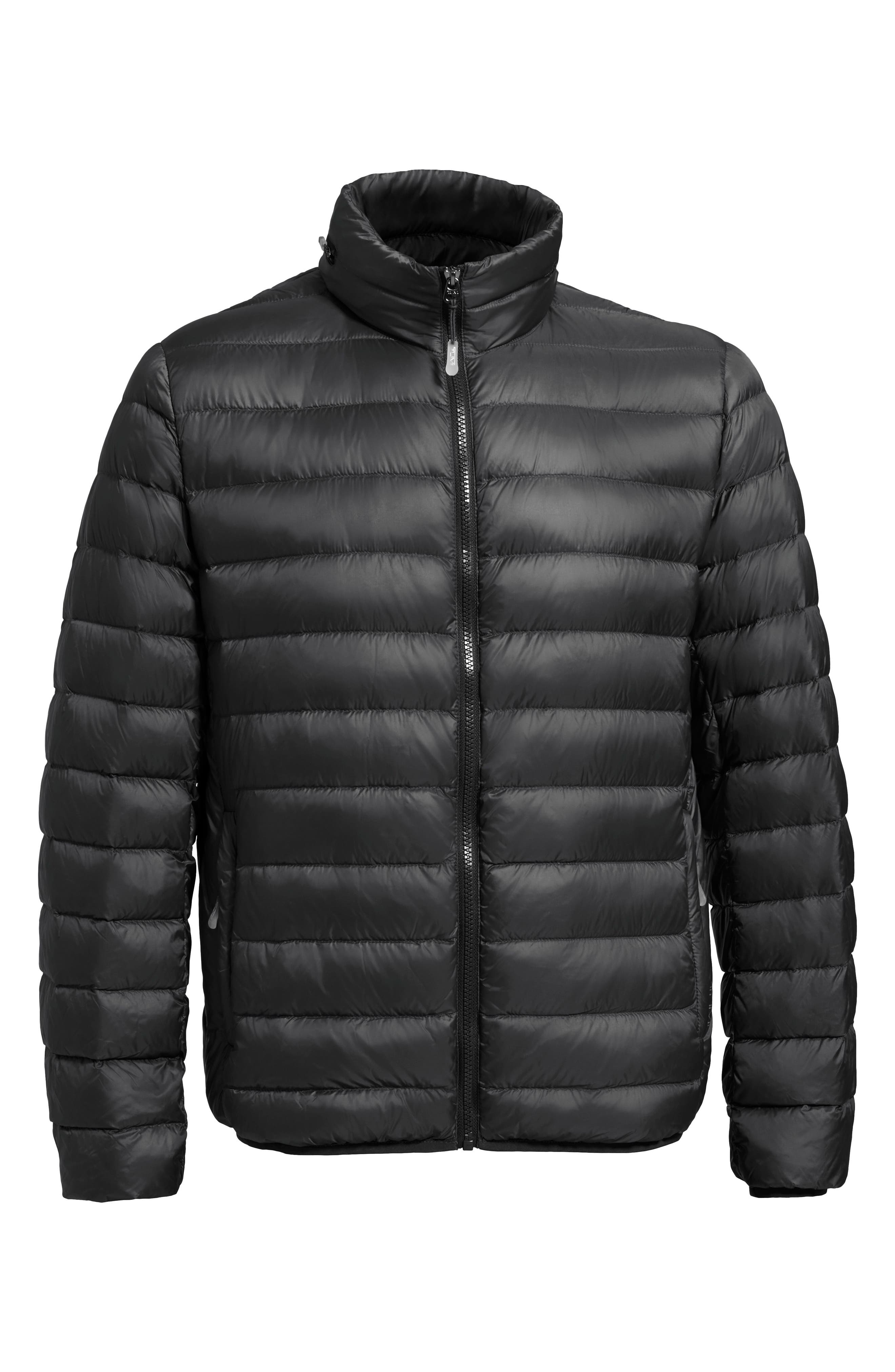 Pax Packable Quilted Jacket,                             Alternate thumbnail 2, color,                             001