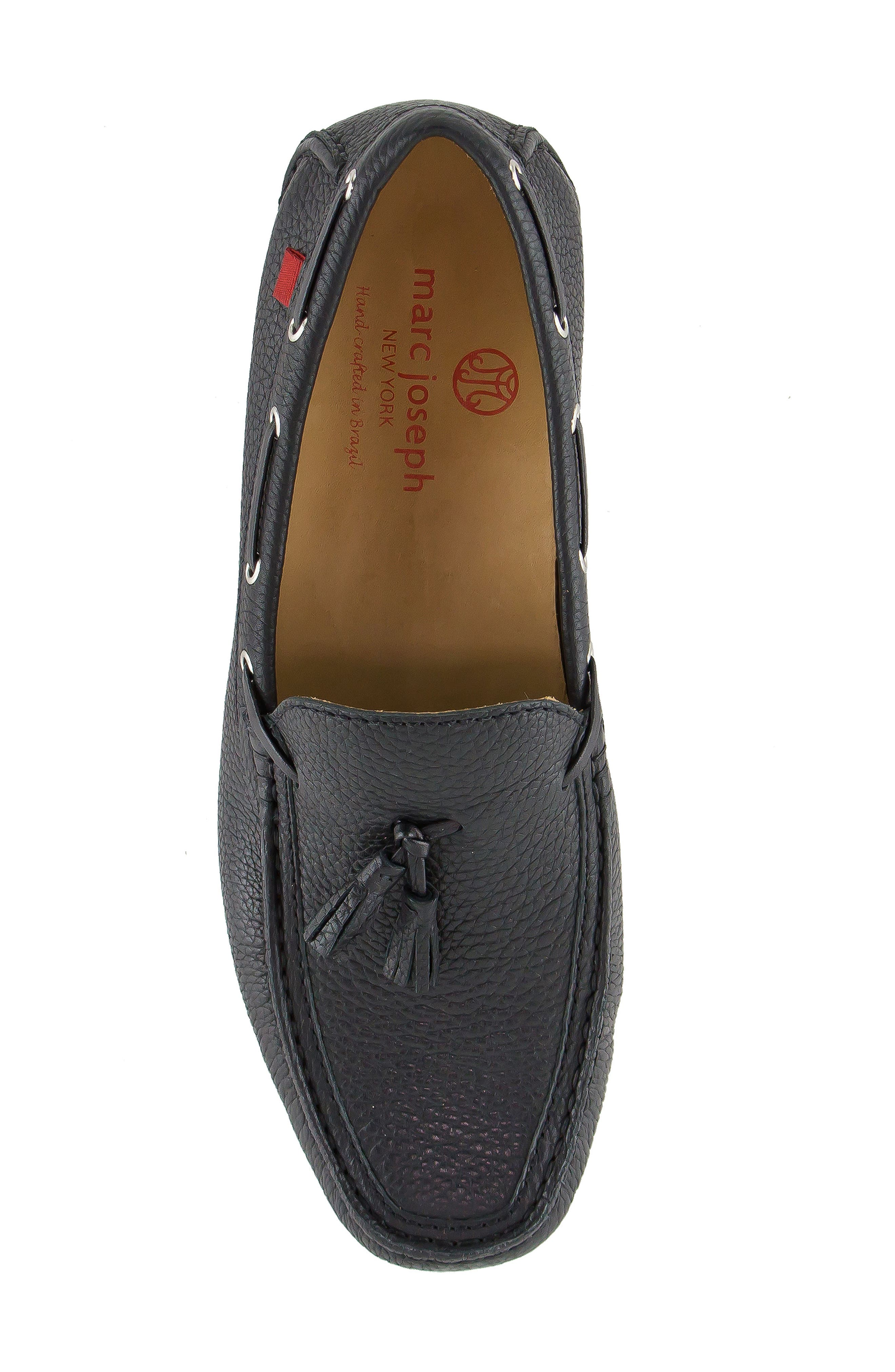 Bushwick Tasseled Driving Loafer,                             Alternate thumbnail 5, color,                             001