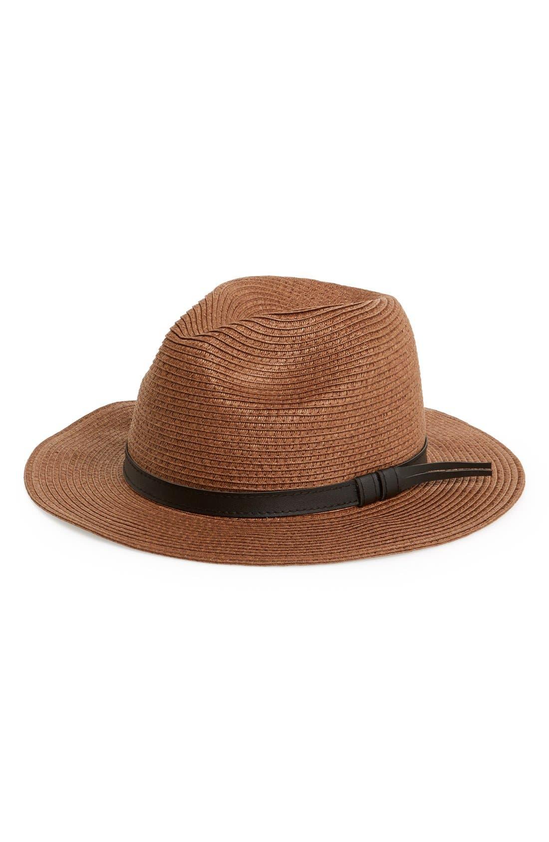 BP.,                             Straw Panama Hat,                             Main thumbnail 1, color,                             200