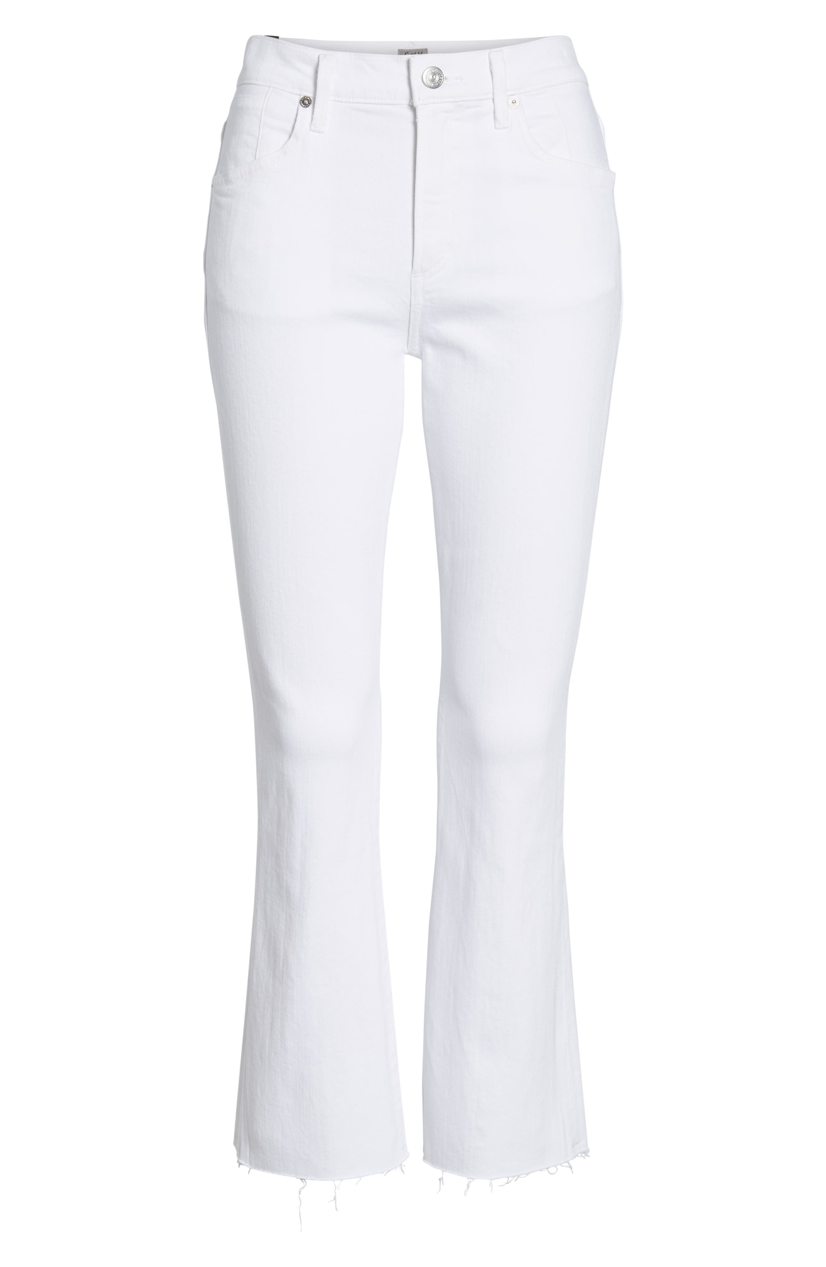 Fleetwood Crop Straight Leg Jeans,                             Alternate thumbnail 7, color,                             104