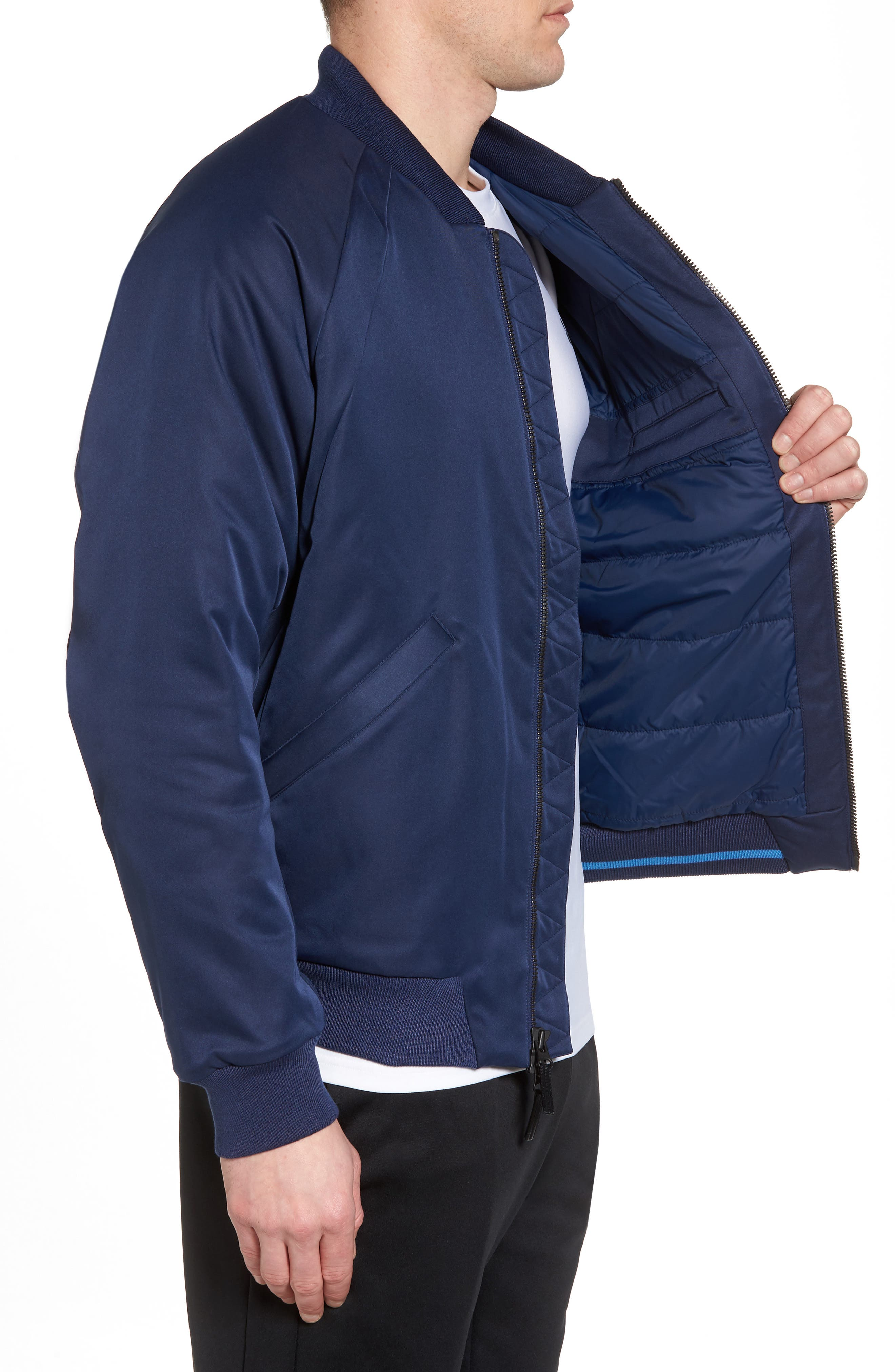 Sportswear Wings MA-1 Bomber Jacket,                             Alternate thumbnail 8, color,