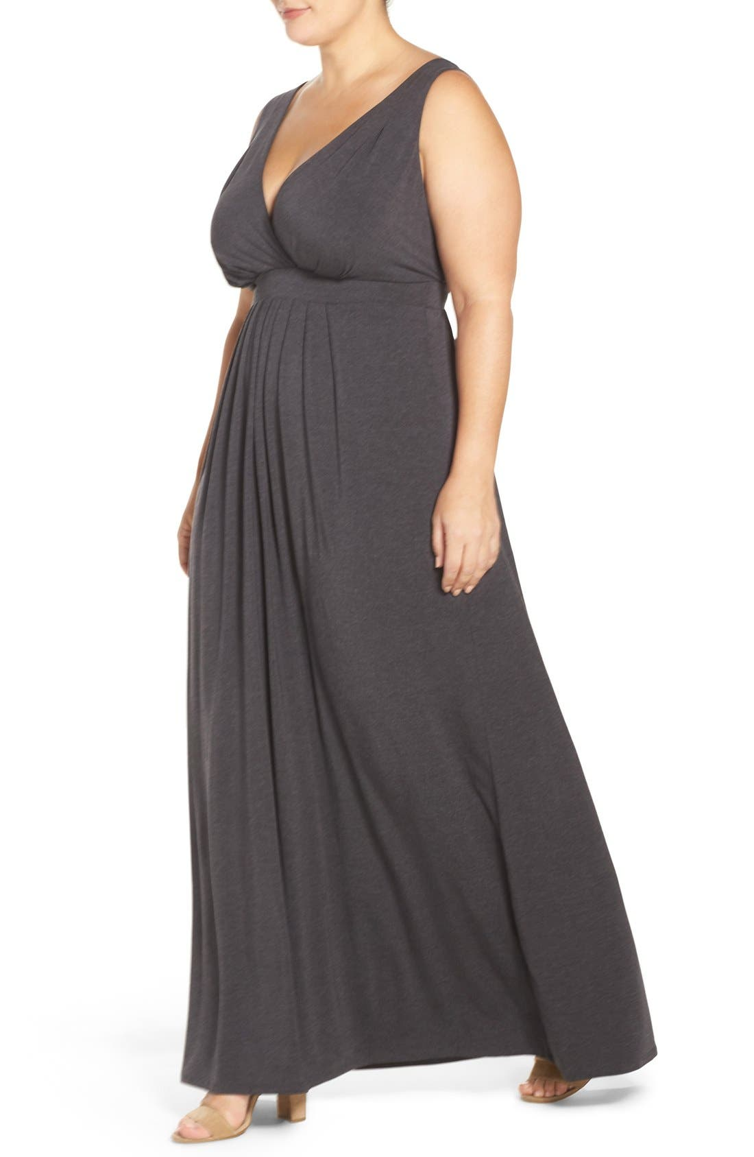 Chloe Empire Waist Maxi Dress,                             Alternate thumbnail 63, color,