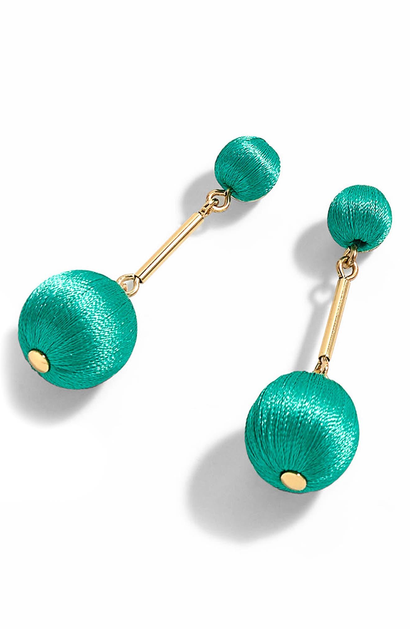 Thread Ball Swing Earrings,                             Main thumbnail 2, color,