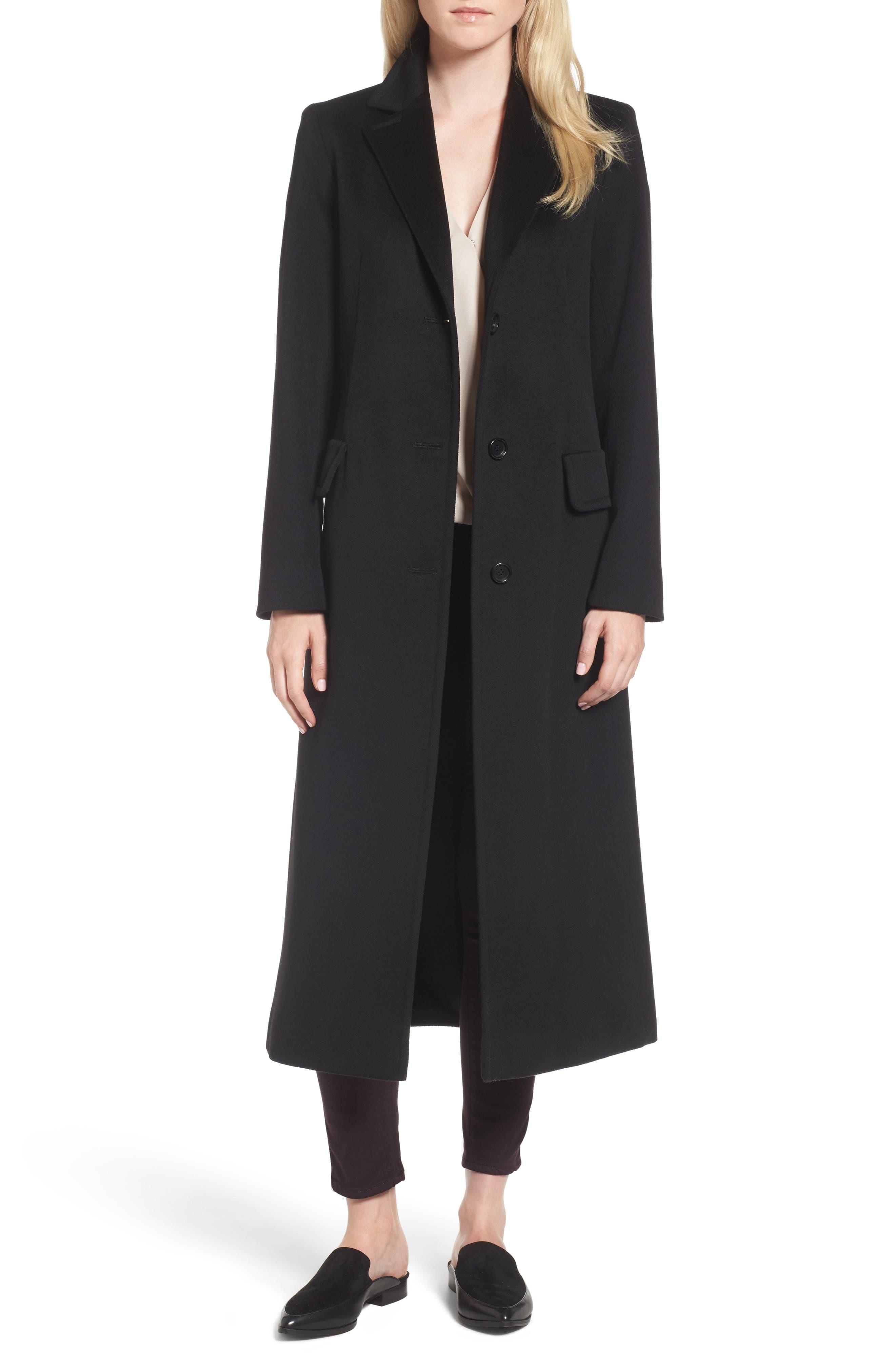 Modern Reefer Coat,                         Main,                         color, 001