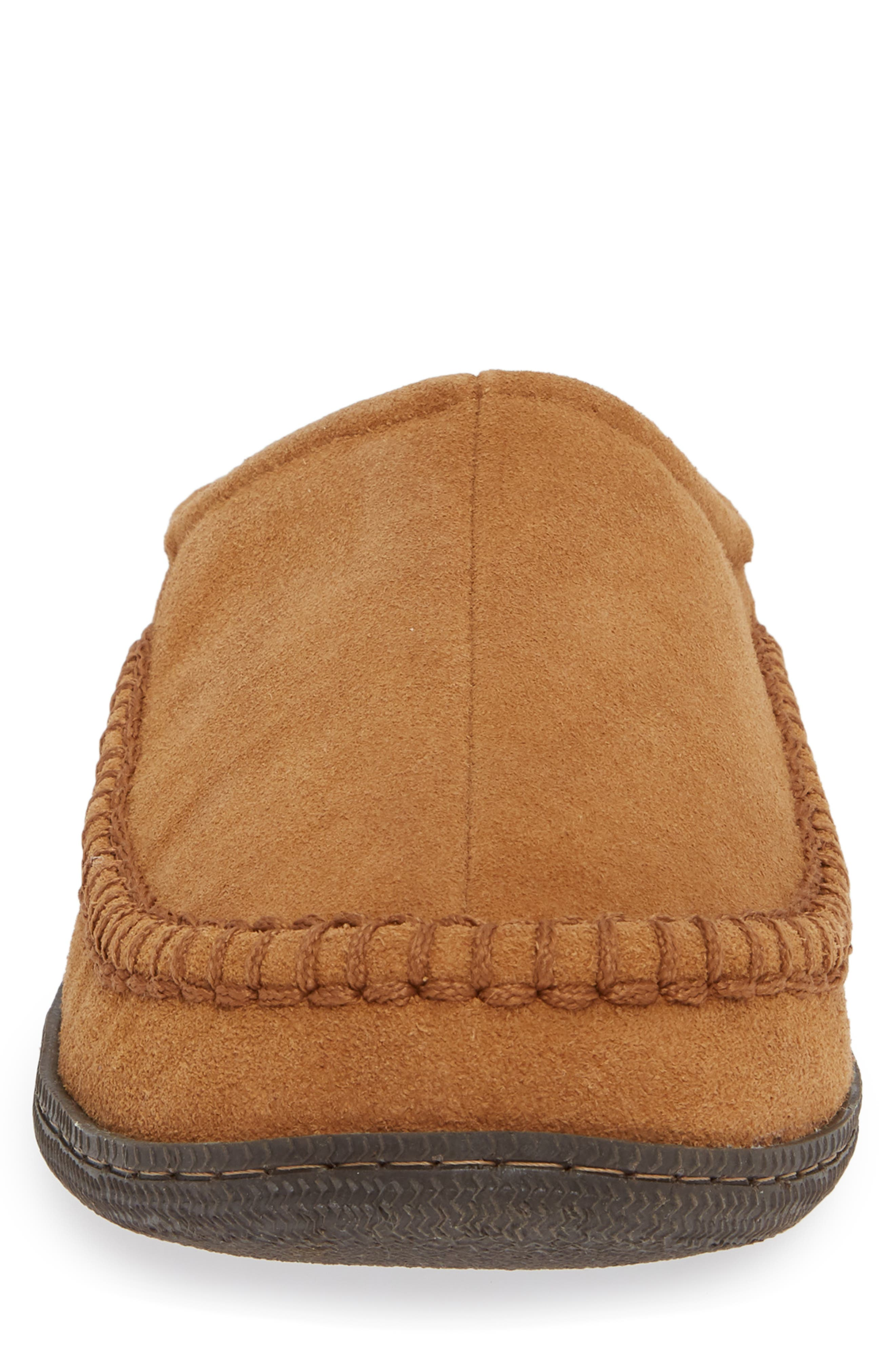 Cypress Flannel Lined Slipper,                             Alternate thumbnail 4, color,