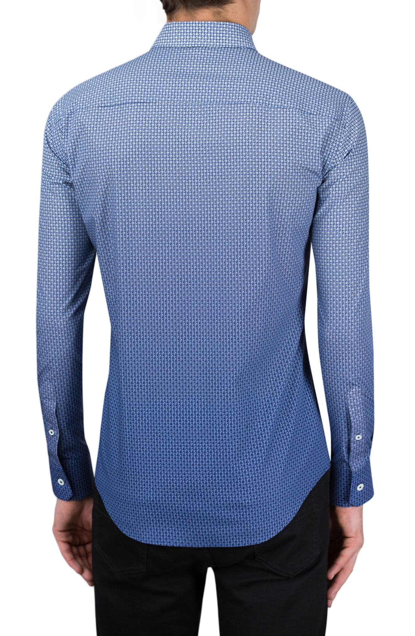Shaped Fit Sport Shirt,                             Alternate thumbnail 2, color,                             411