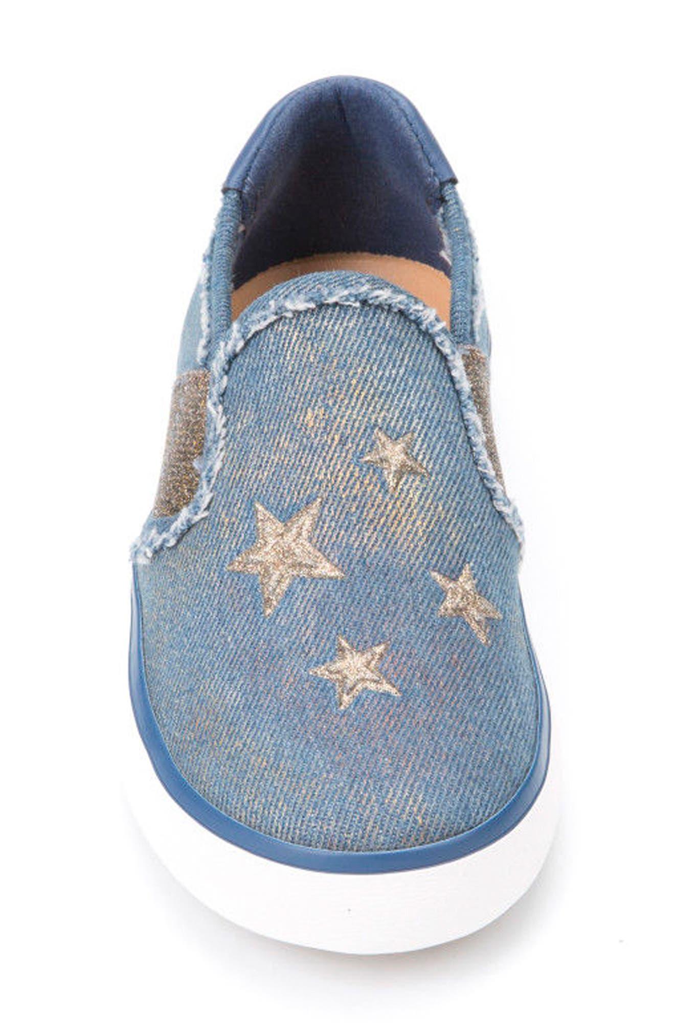 Kilwi Slip-On Sneaker,                             Alternate thumbnail 4, color,                             AVIO