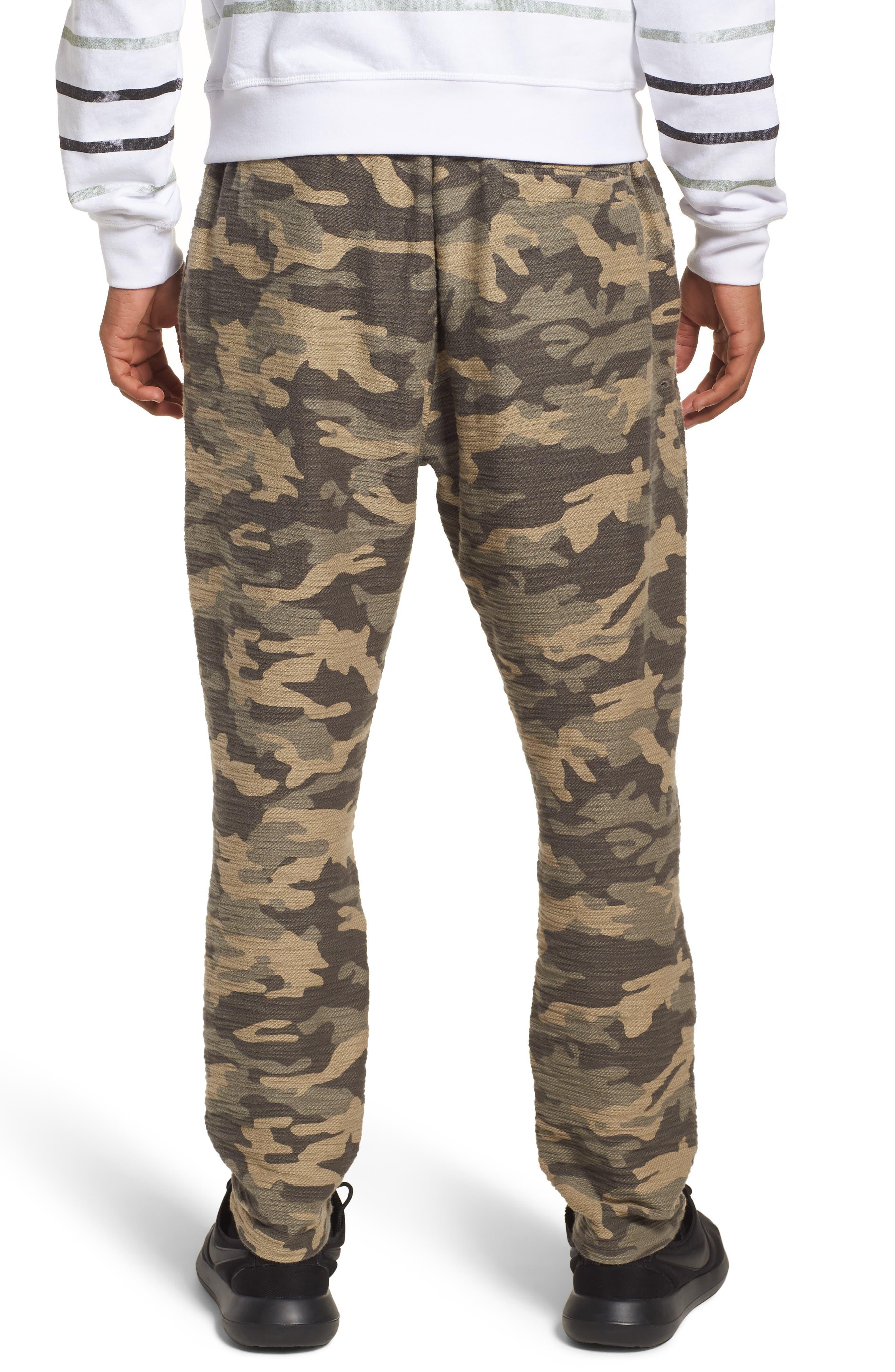 Camo Fleece Sweatpants,                             Alternate thumbnail 2, color,                             300