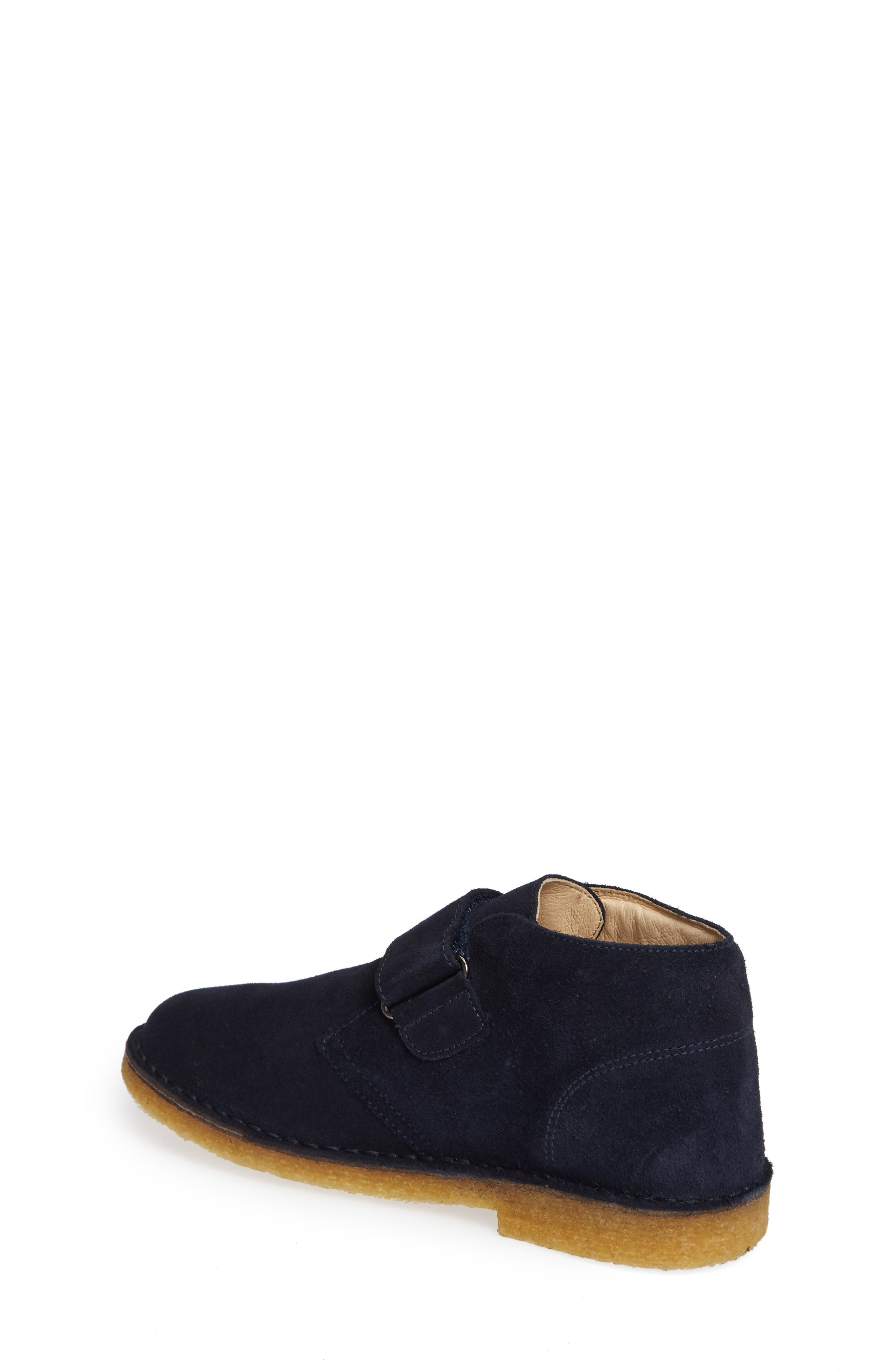 Choco Chukka Boot,                             Alternate thumbnail 2, color,                             BLUE SUEDE