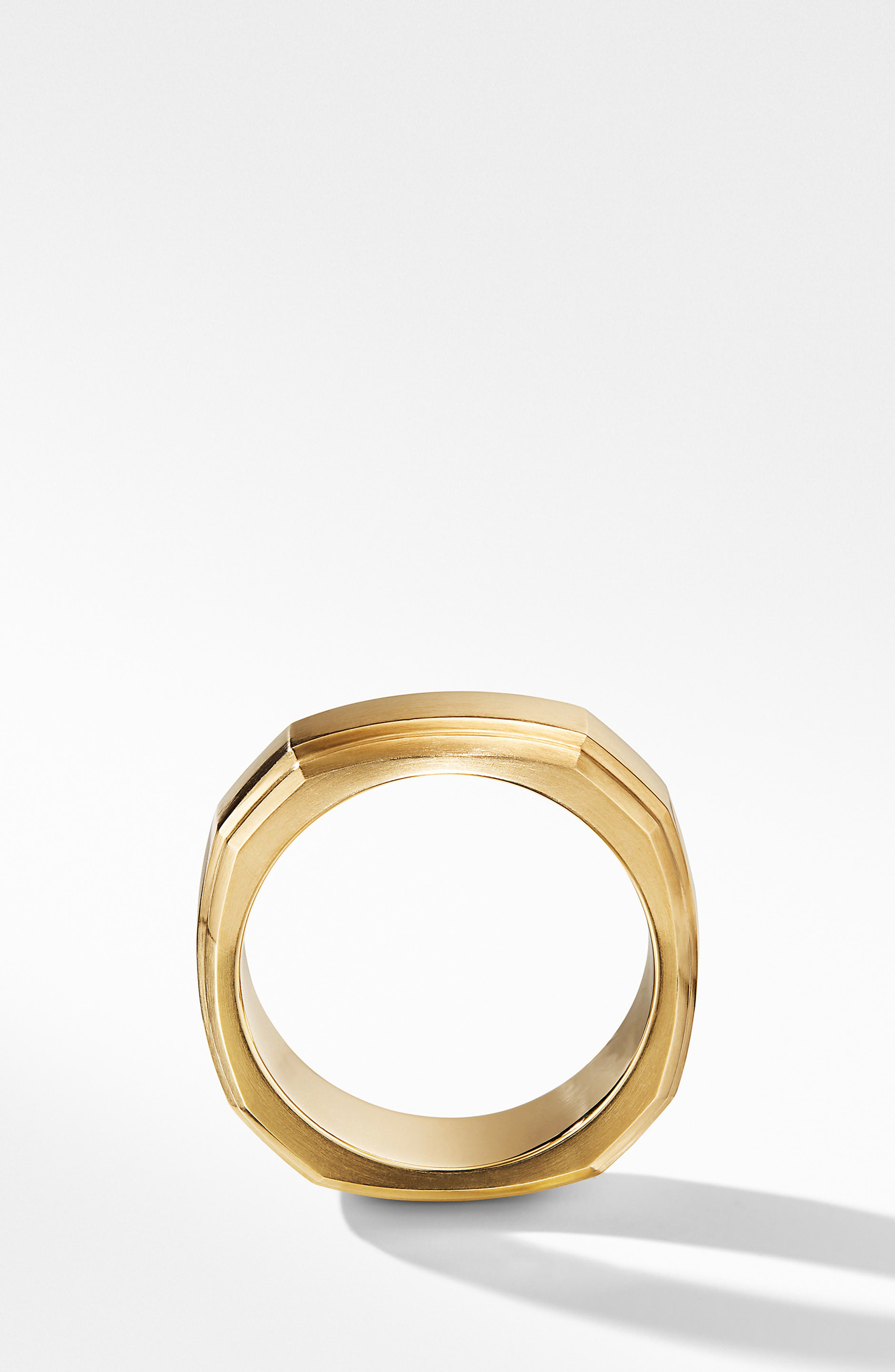 18K Gold Deco Band Ring,                             Alternate thumbnail 2, color,                             GOLD