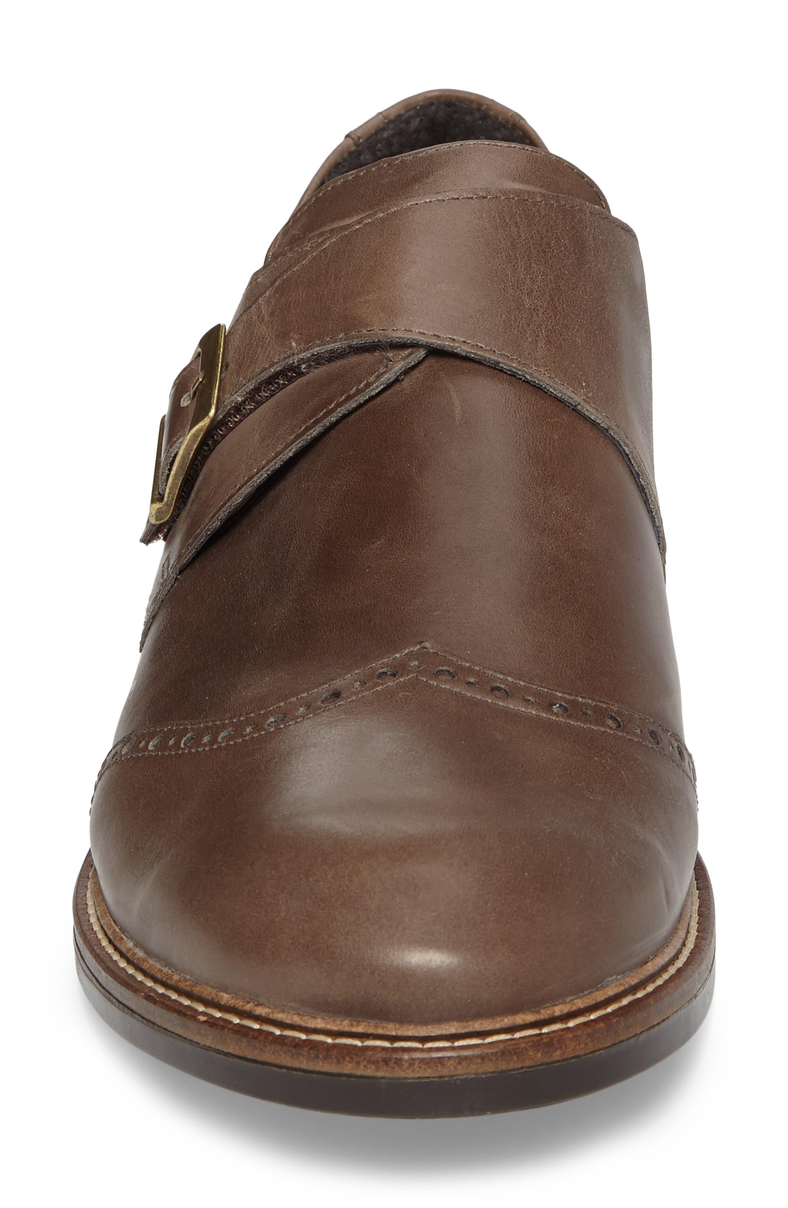Evidence Monk Strap Shoe,                             Alternate thumbnail 4, color,                             001