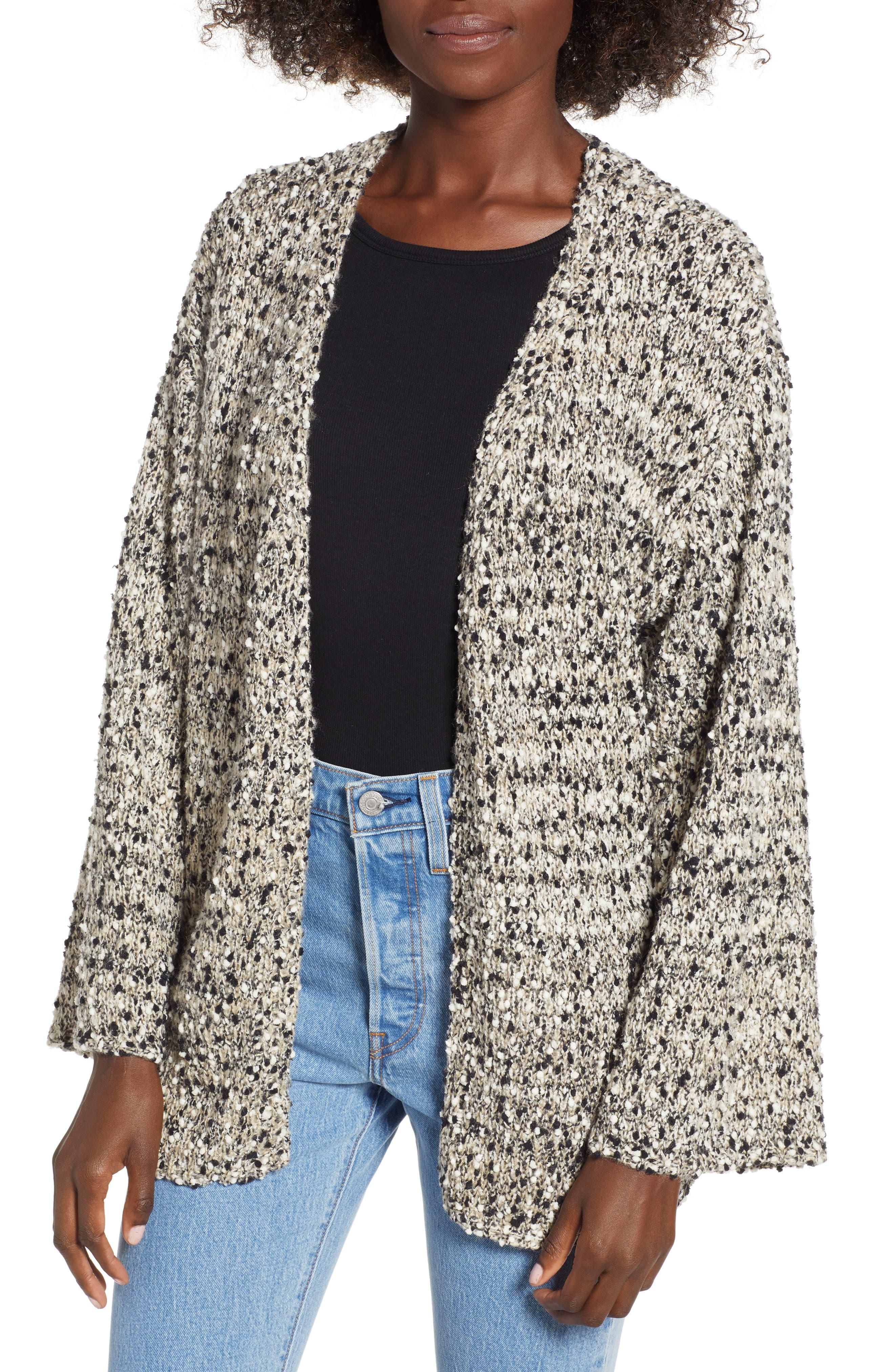 Slub Knit Cardigan,                         Main,                         color, 900