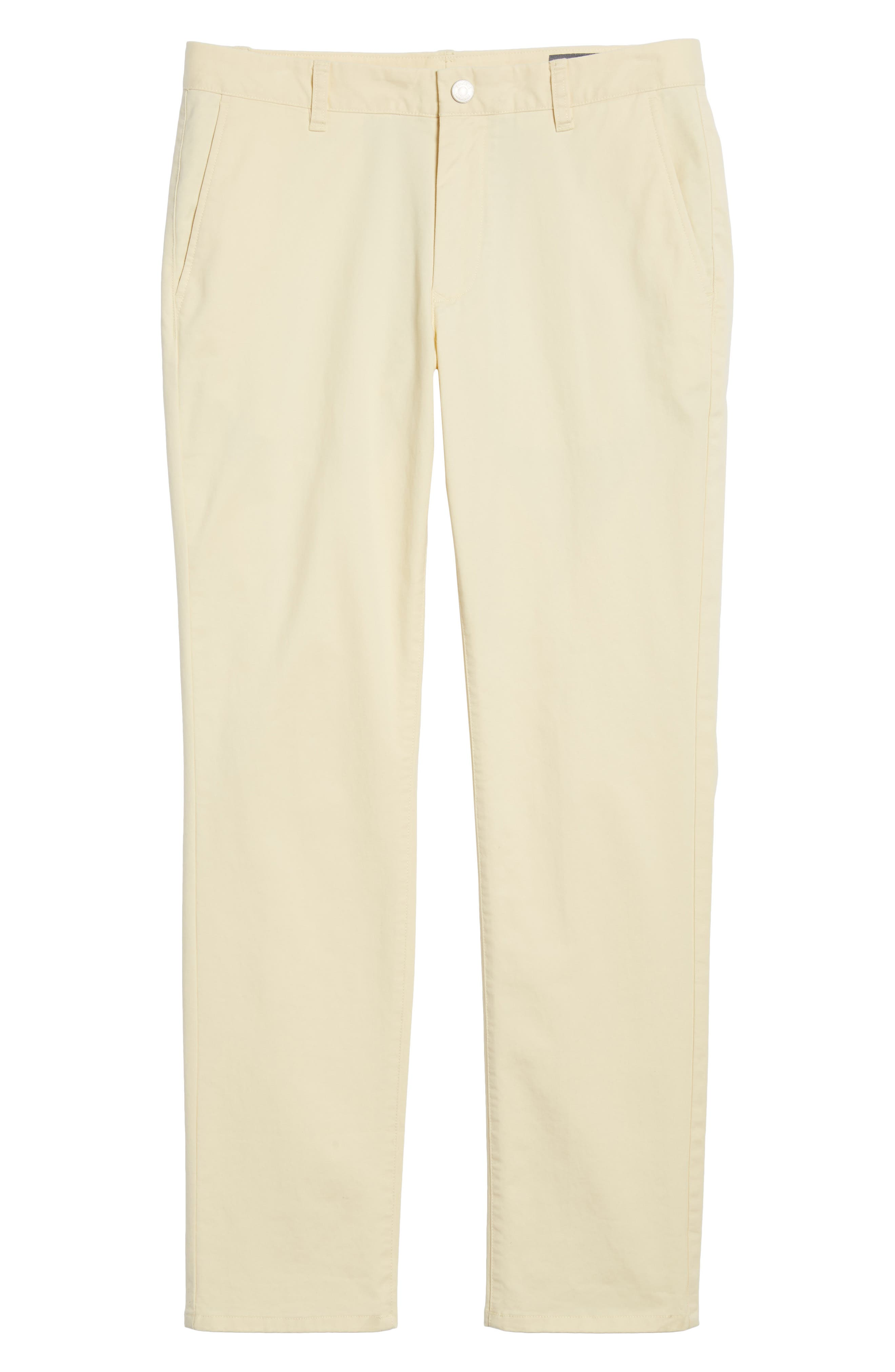 Tailored Fit Washed Stretch Cotton Chinos,                             Alternate thumbnail 191, color,