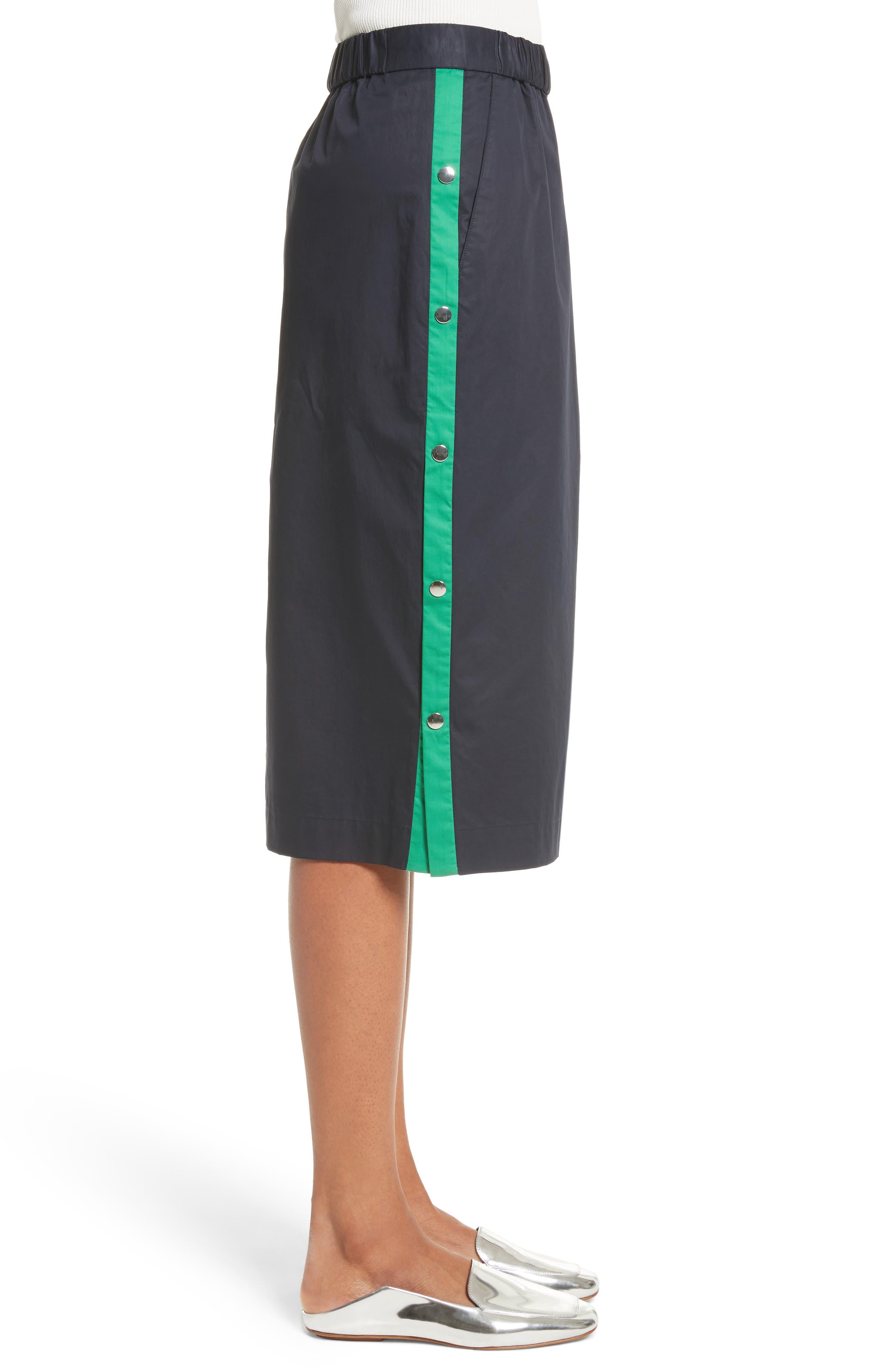 Side Snap Skirt,                             Alternate thumbnail 3, color,                             404