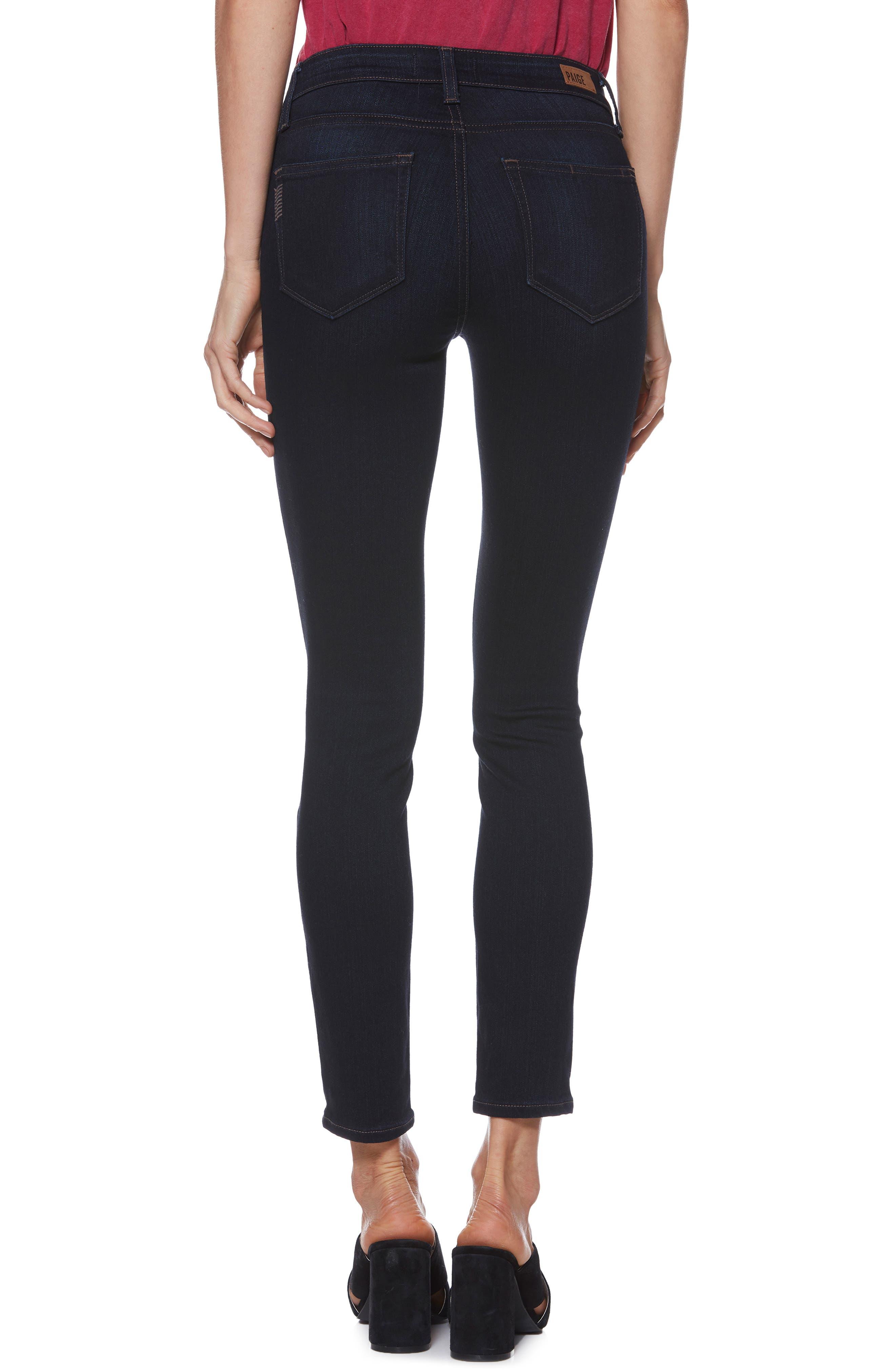 Transcend - Verdugo Ankle Skinny Jeans,                             Alternate thumbnail 2, color,                             400
