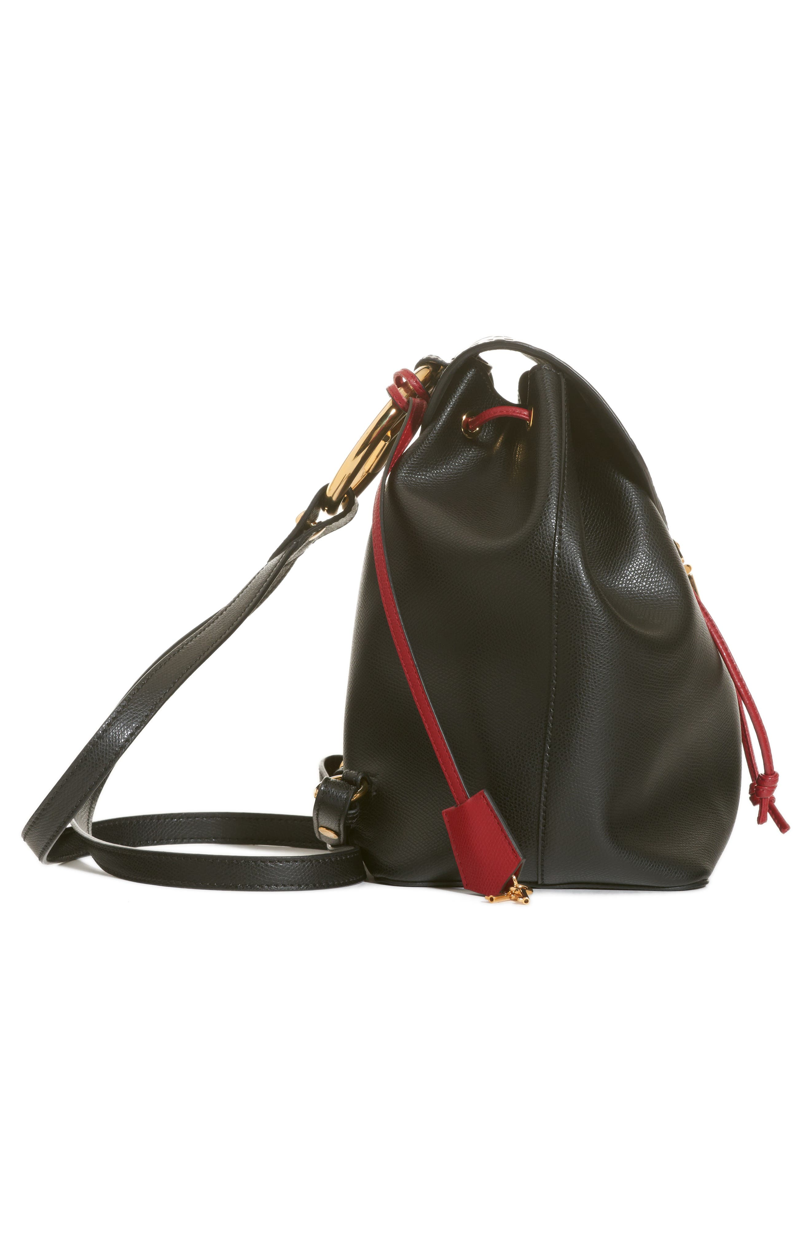 Cruise Bicolor Calfskin Leather Backpack,                             Alternate thumbnail 5, color,                             017