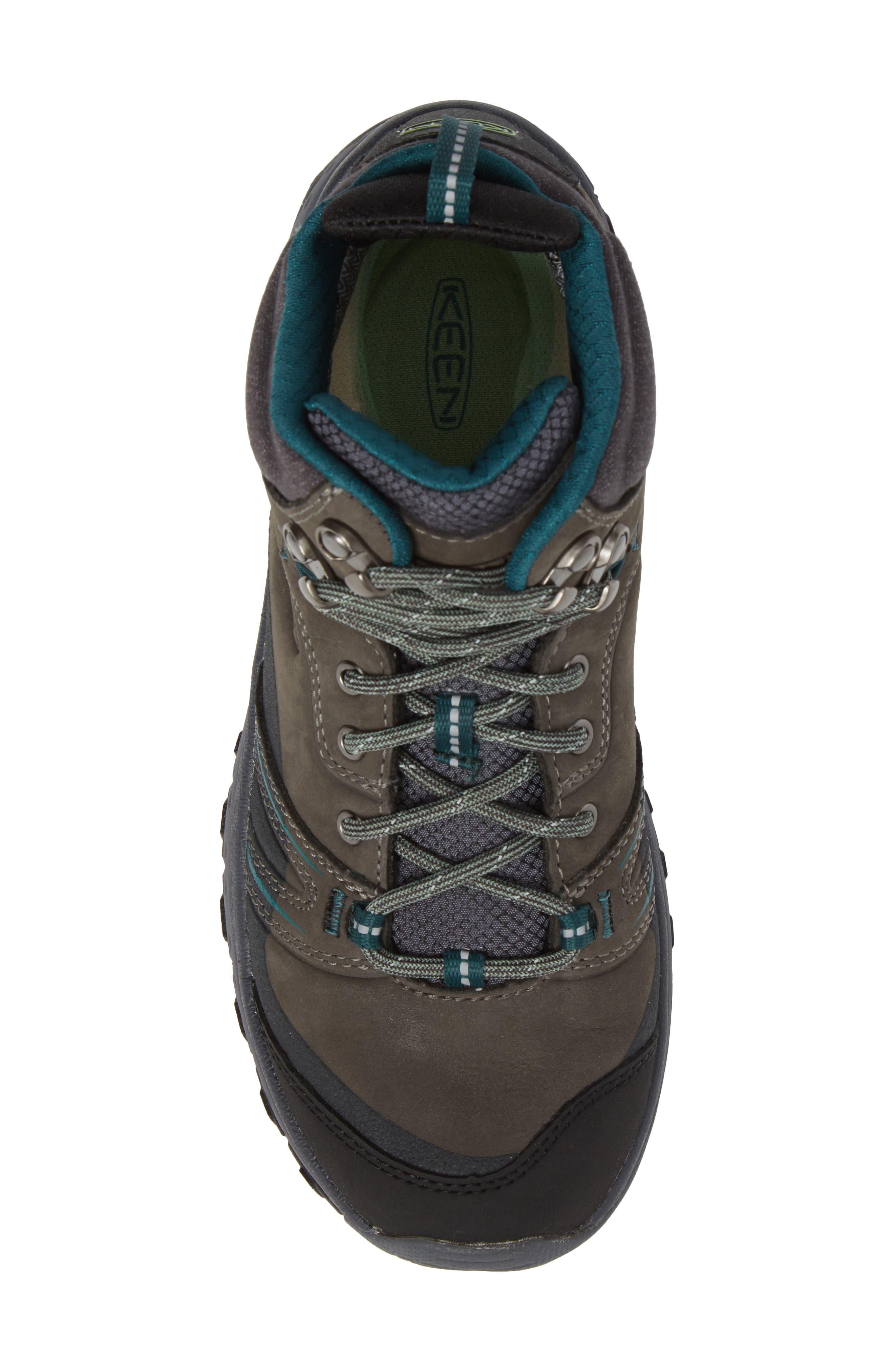 Terradora Leather Waterproof Hiking Boot,                             Alternate thumbnail 5, color,                             MUSHROOM NUBUCK LEATHER