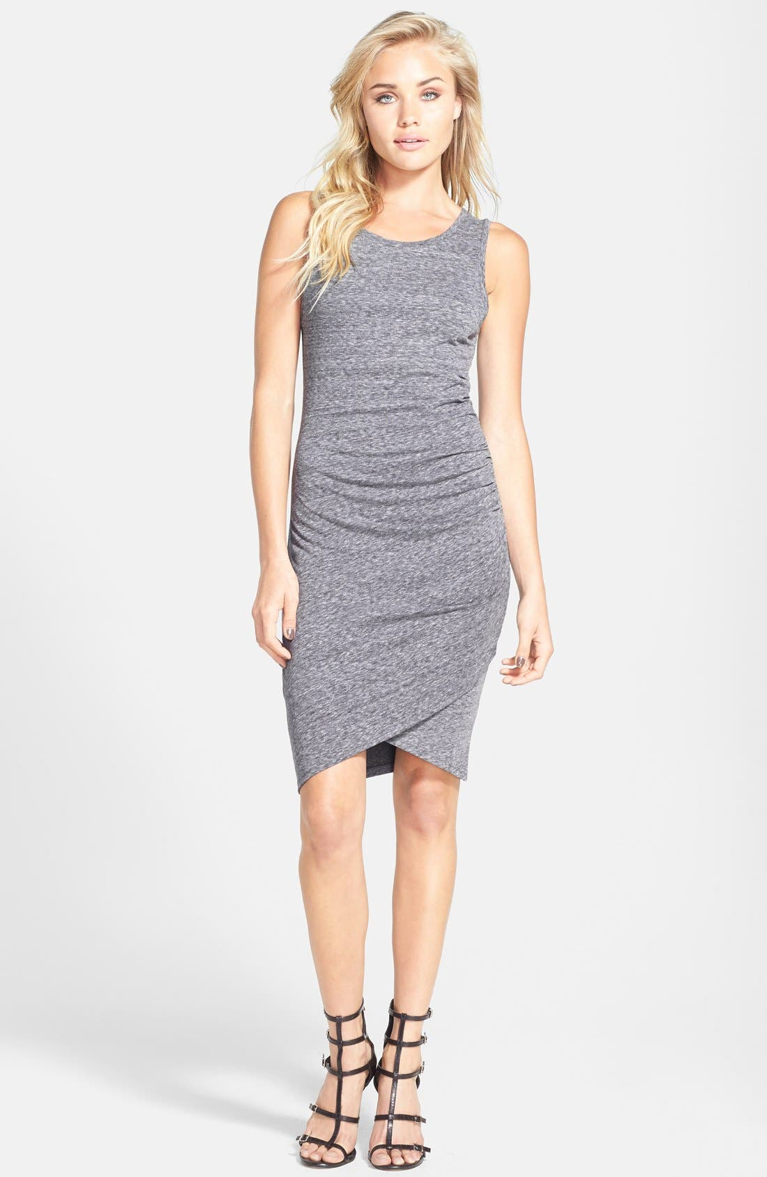 Ruched Body-Con Tank Dress,                             Main thumbnail 24, color,