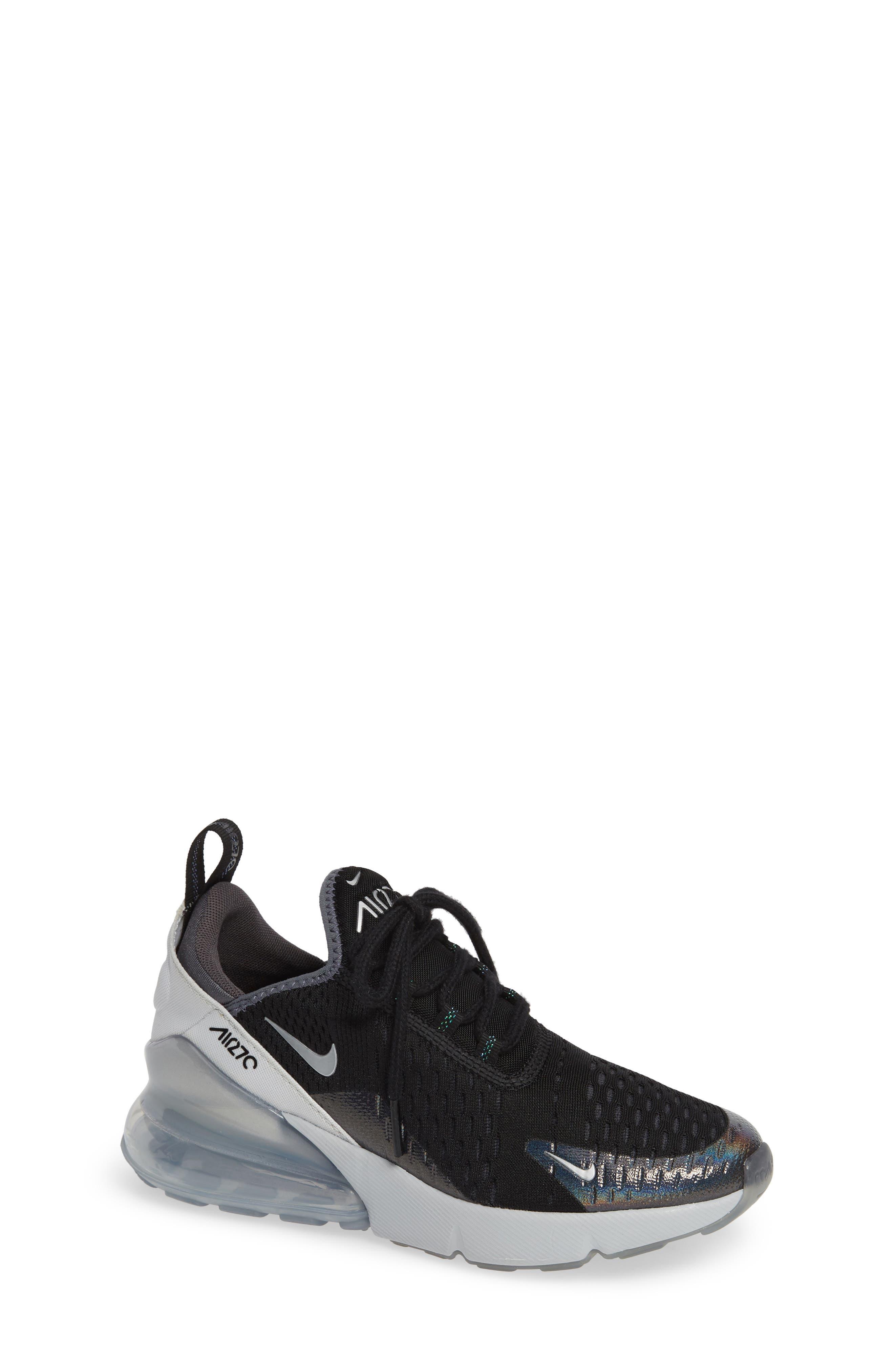 Air Max 270 Y2K Sneaker, Main, color, BLACK