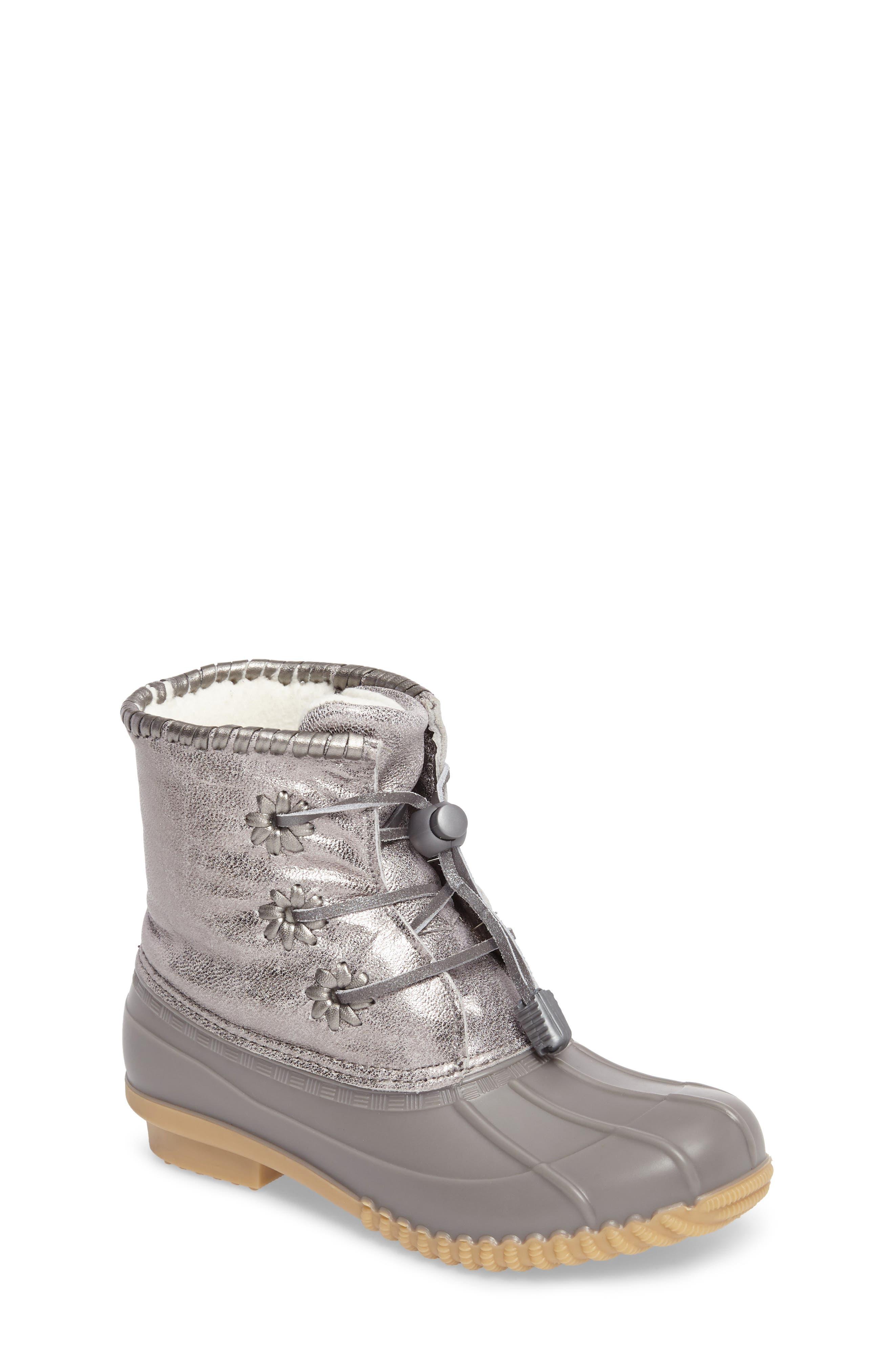 Miss Chloe Metallic Rain Boot,                         Main,                         color,