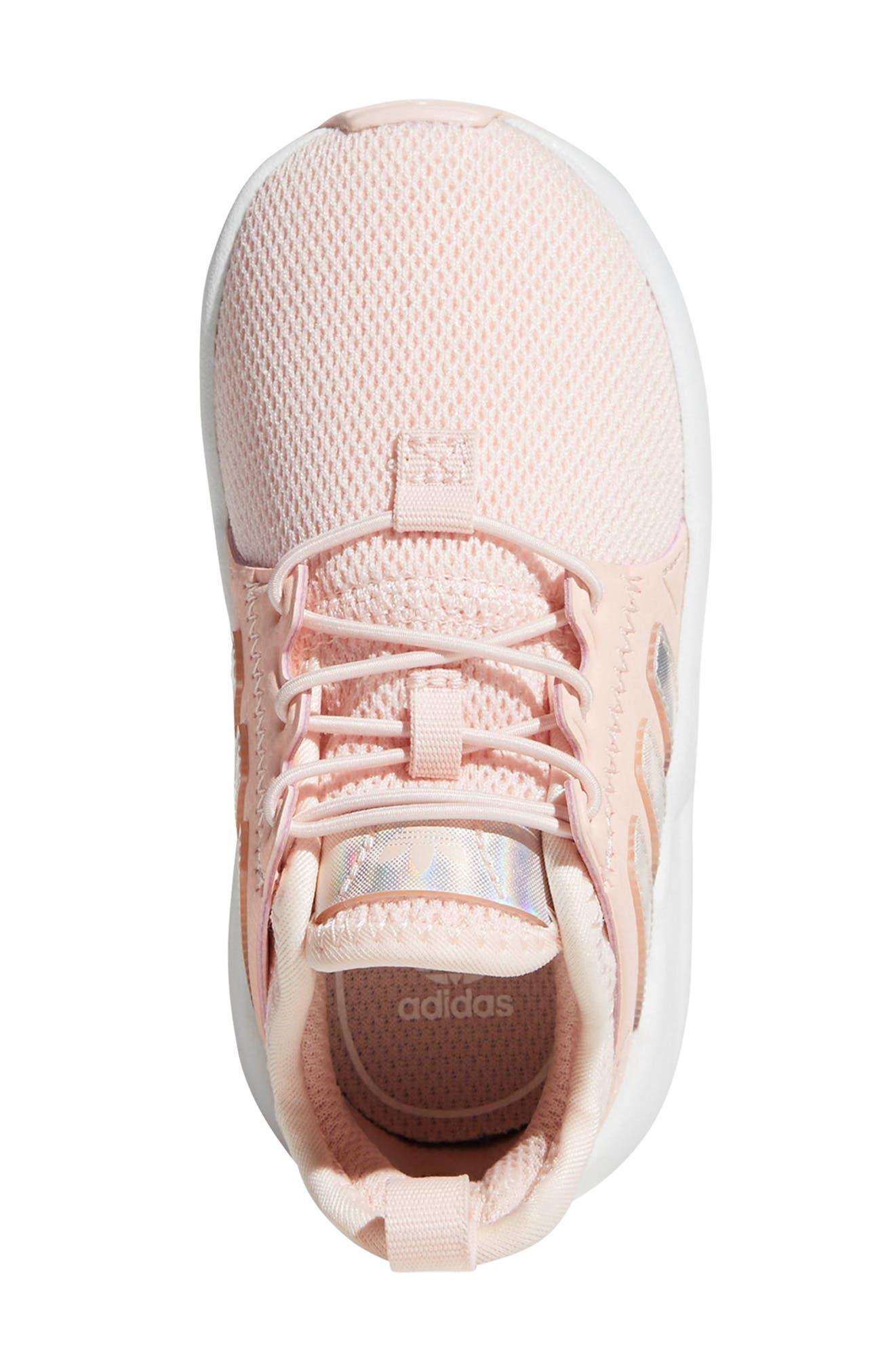 X_PLR Sneaker,                             Alternate thumbnail 4, color,                             ICE PINK/ WHITE