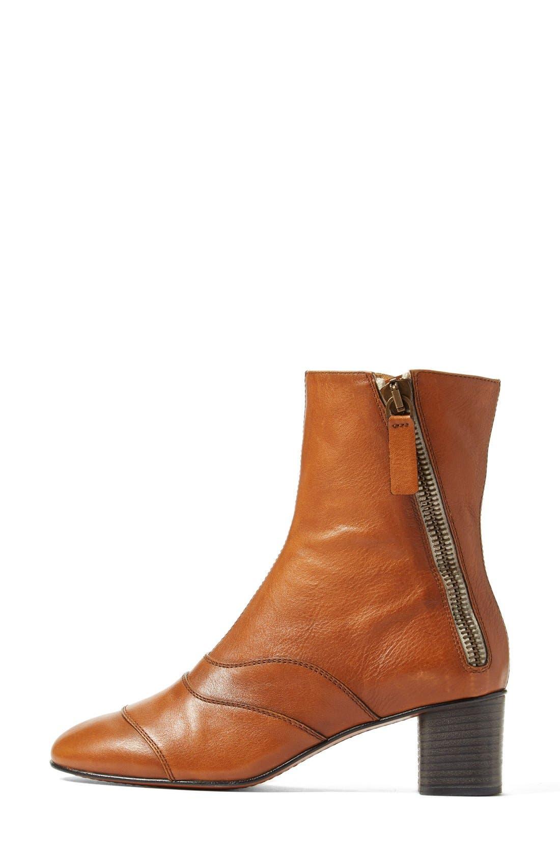 'Lexie' Block Heel Boot,                             Alternate thumbnail 8, color,