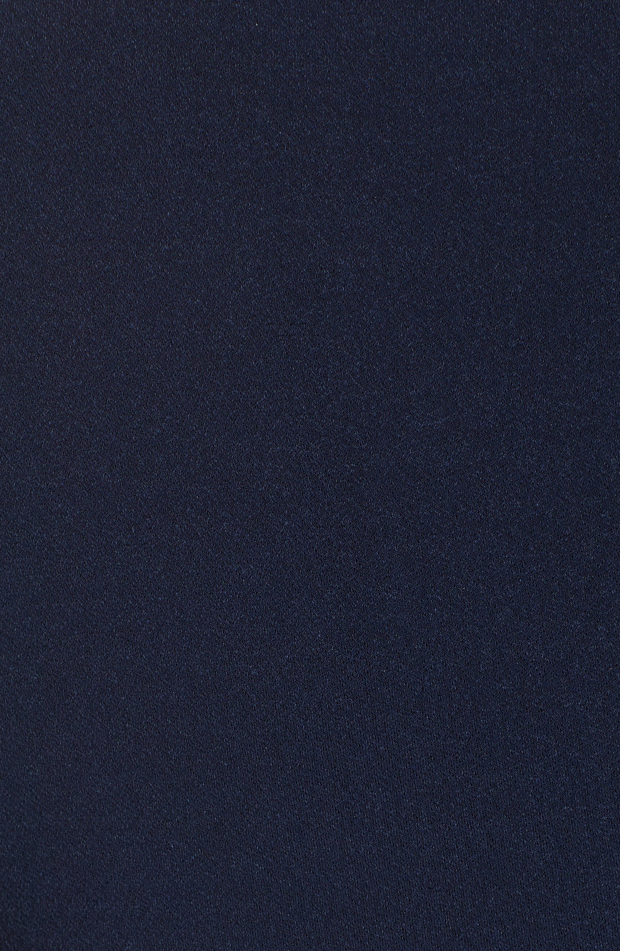 Tabitha Genuine Fox Fur Cuff Dress,                             Alternate thumbnail 5, color,                             400