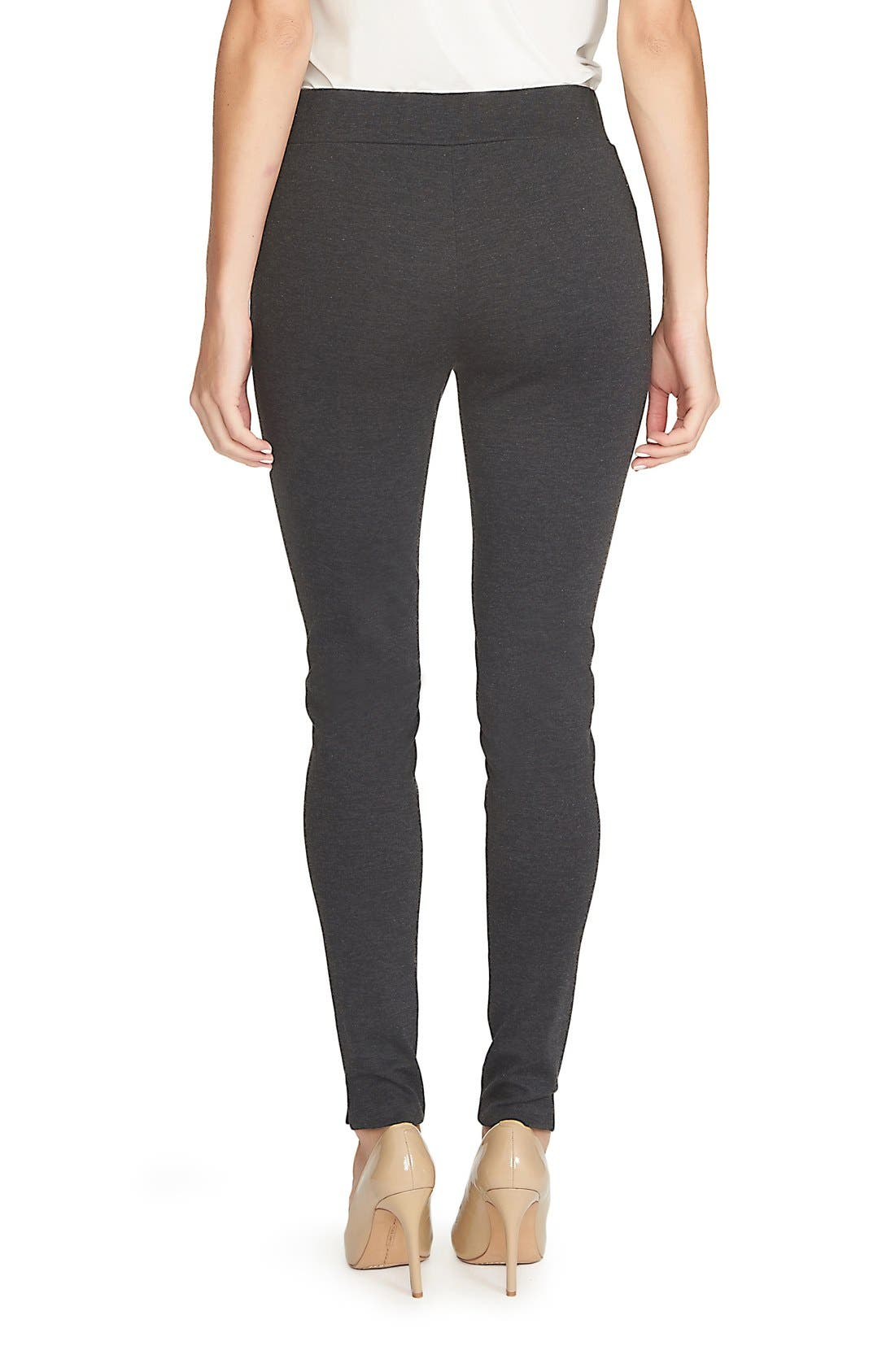 Ponte Knit Leggings,                             Alternate thumbnail 5, color,