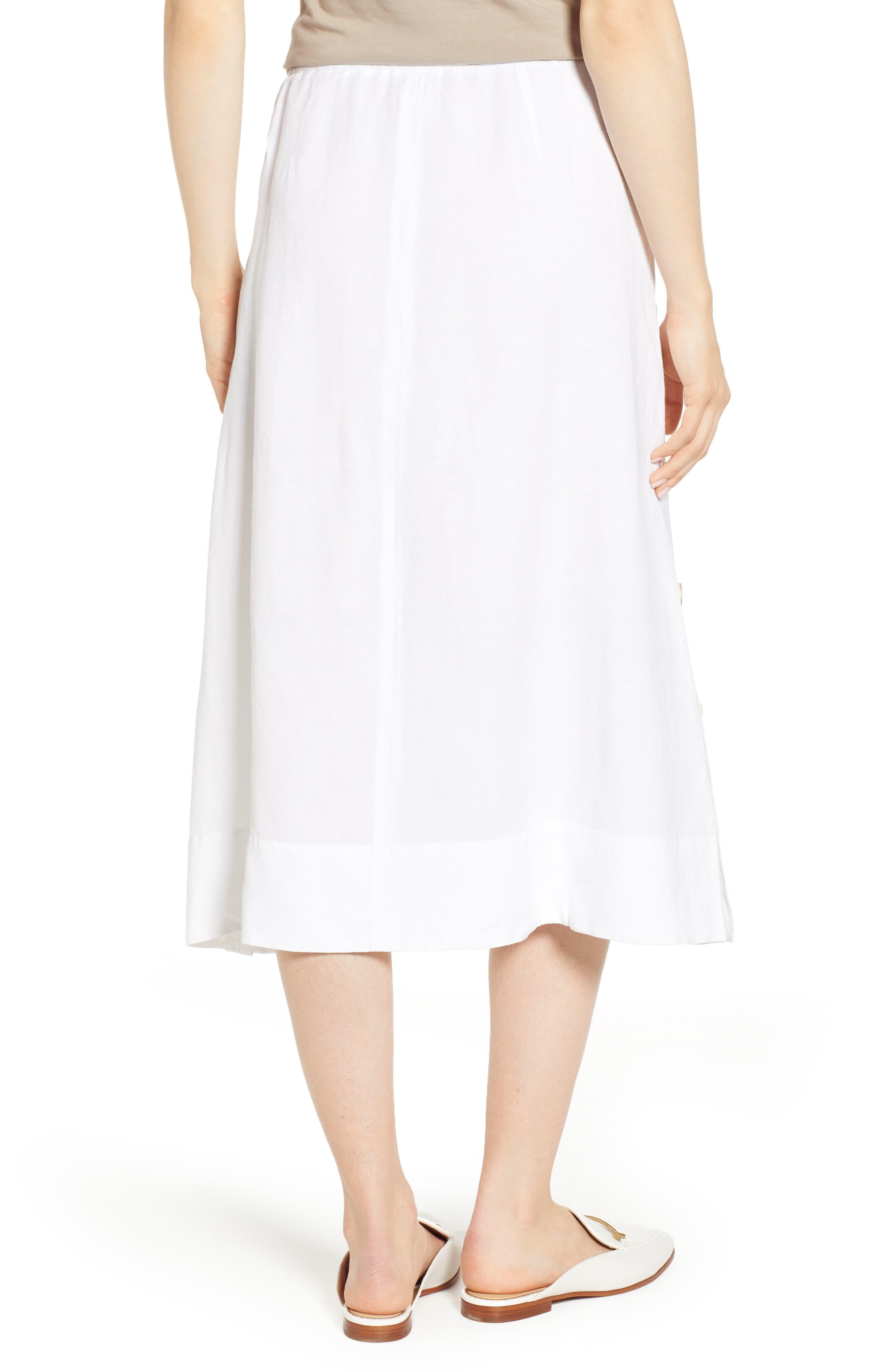 Front Runner Skirt,                             Alternate thumbnail 2, color,                             PAPER WHITE