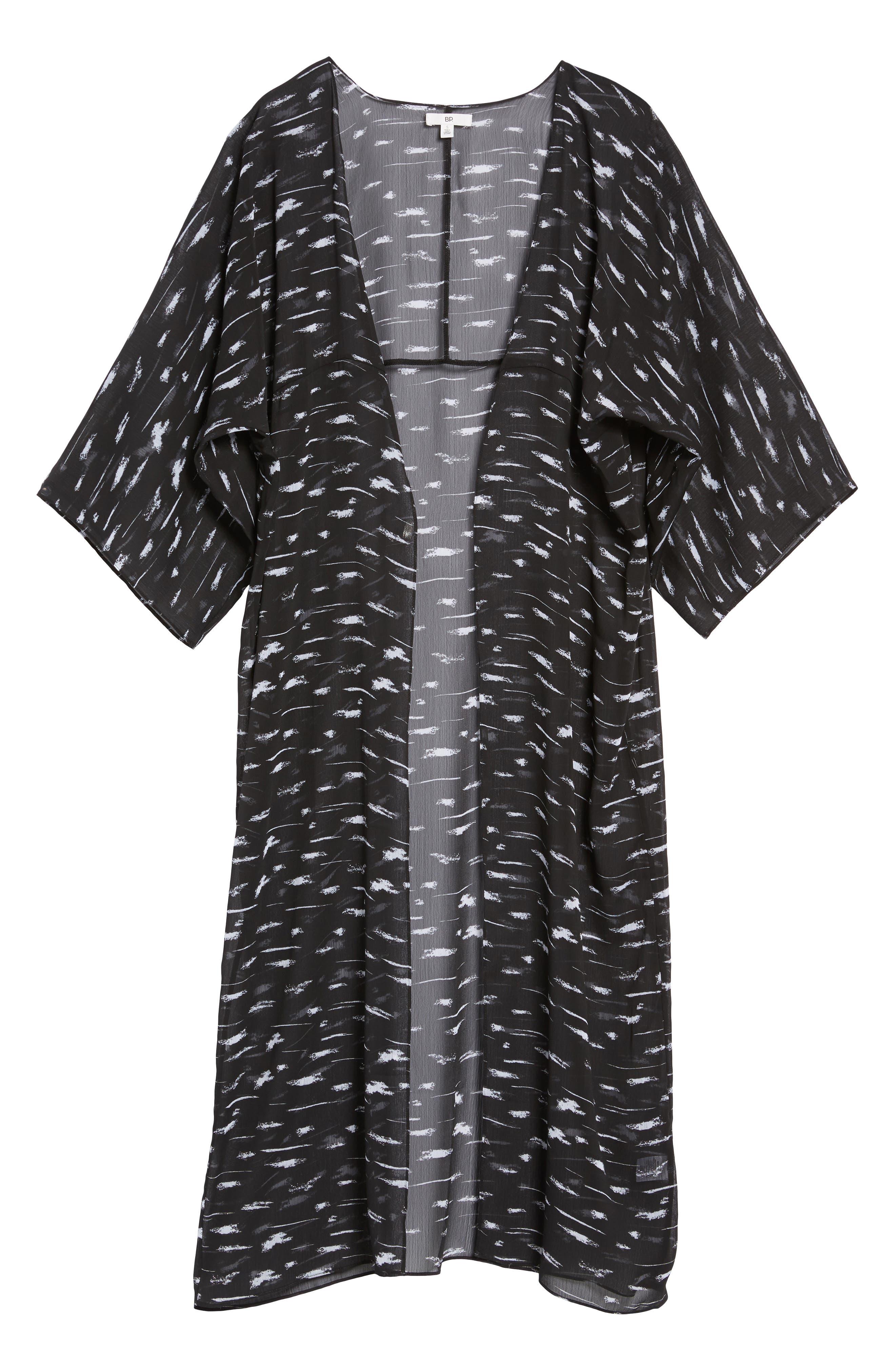 Print Duster Kimono,                             Alternate thumbnail 6, color,                             001