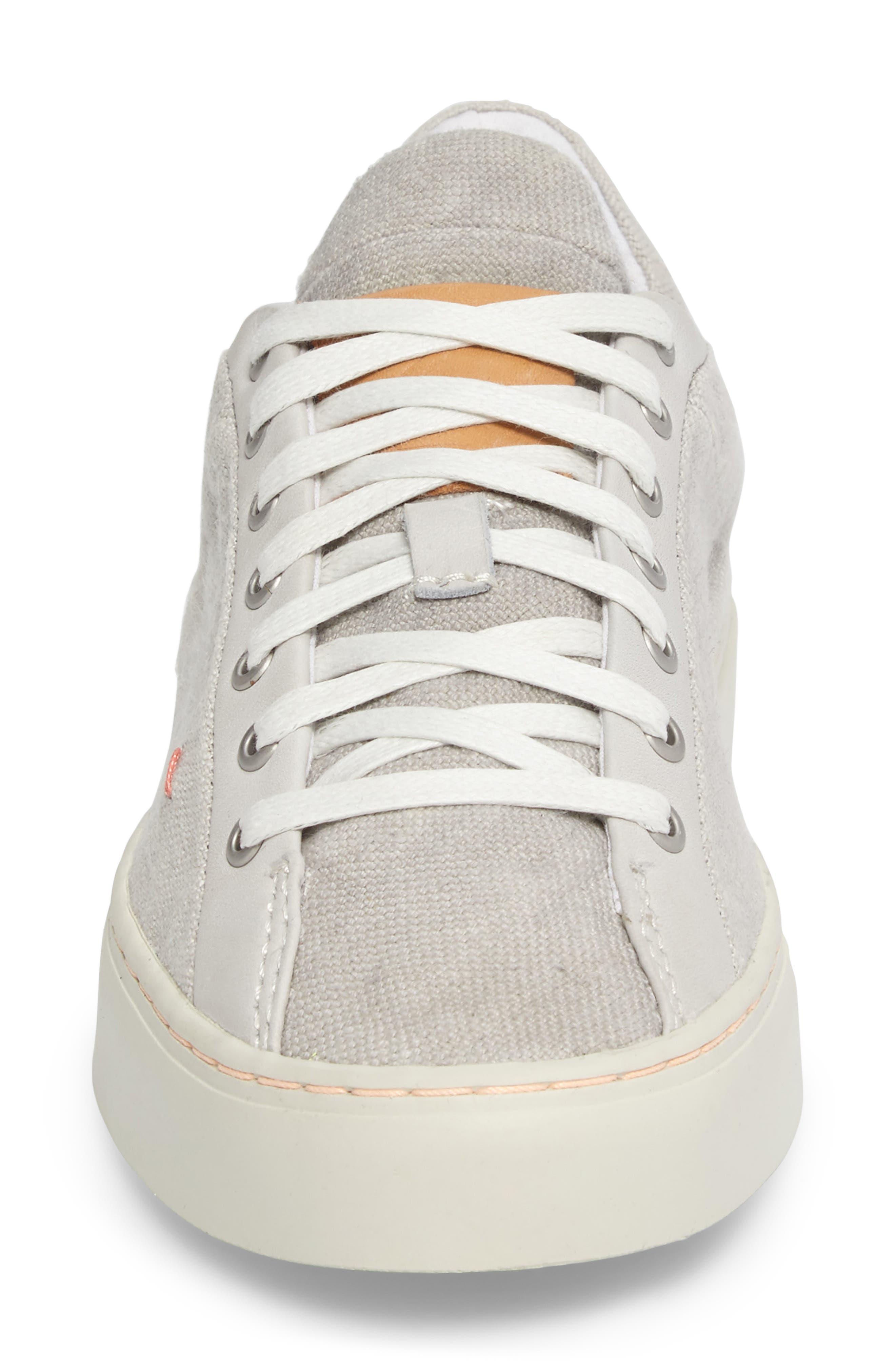 Somerville Sneaker,                             Alternate thumbnail 4, color,                             CONCRETE FABRIC