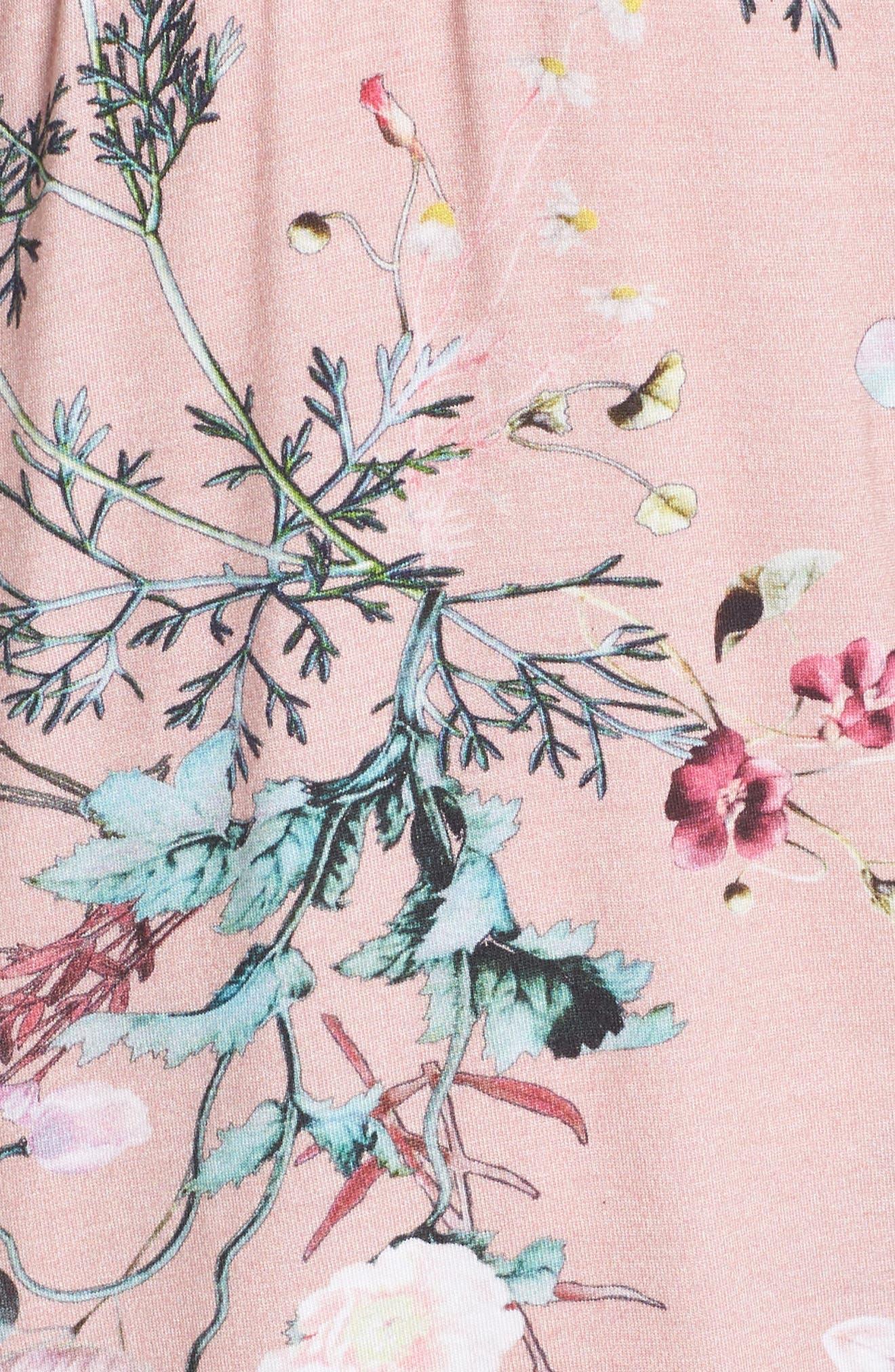 Floral Print Camisole Pajama Set,                             Alternate thumbnail 5, color,                             953