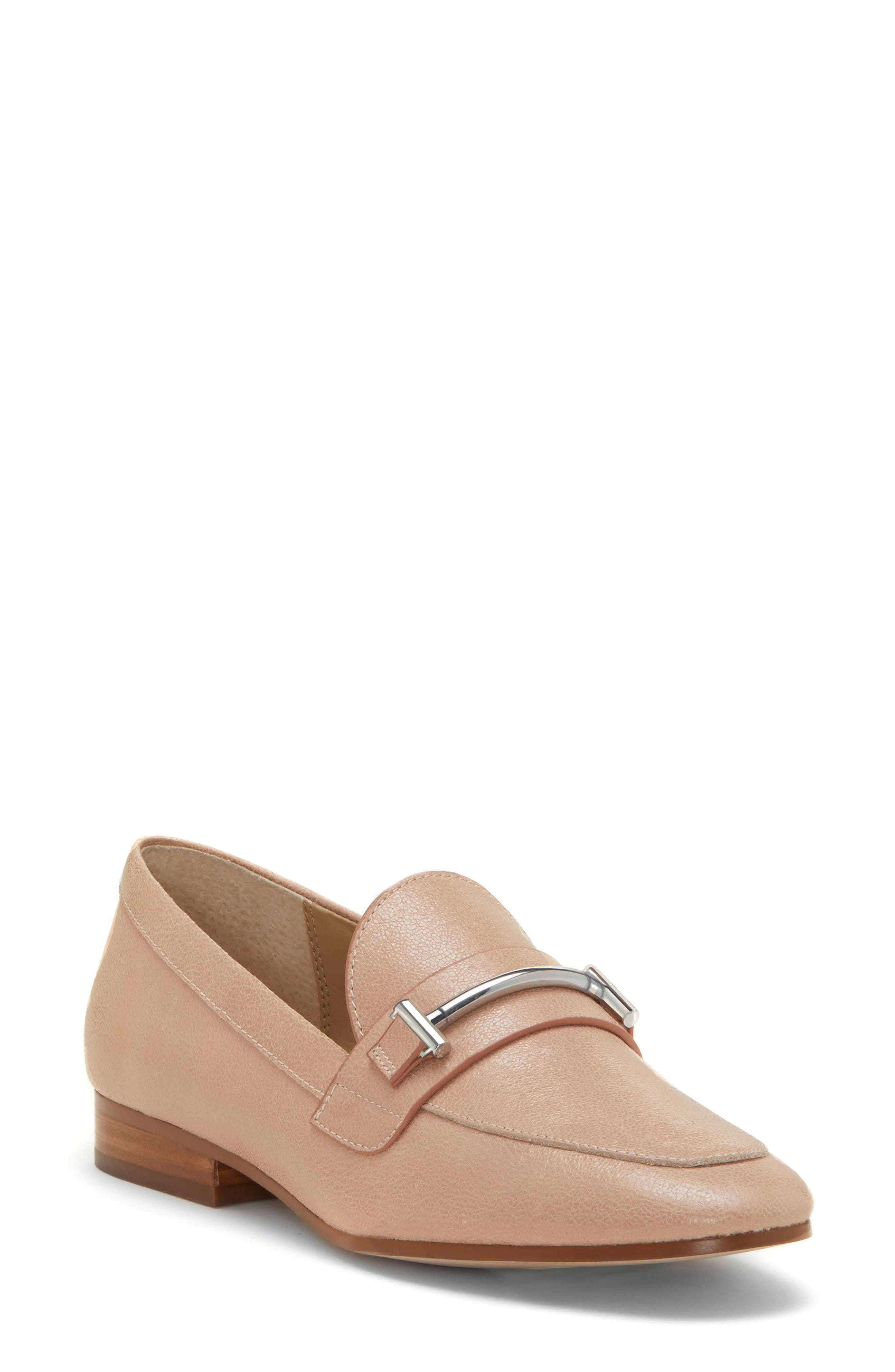 Tatye Loafer,                             Main thumbnail 1, color,                             LIGHT LATTE LEATHER