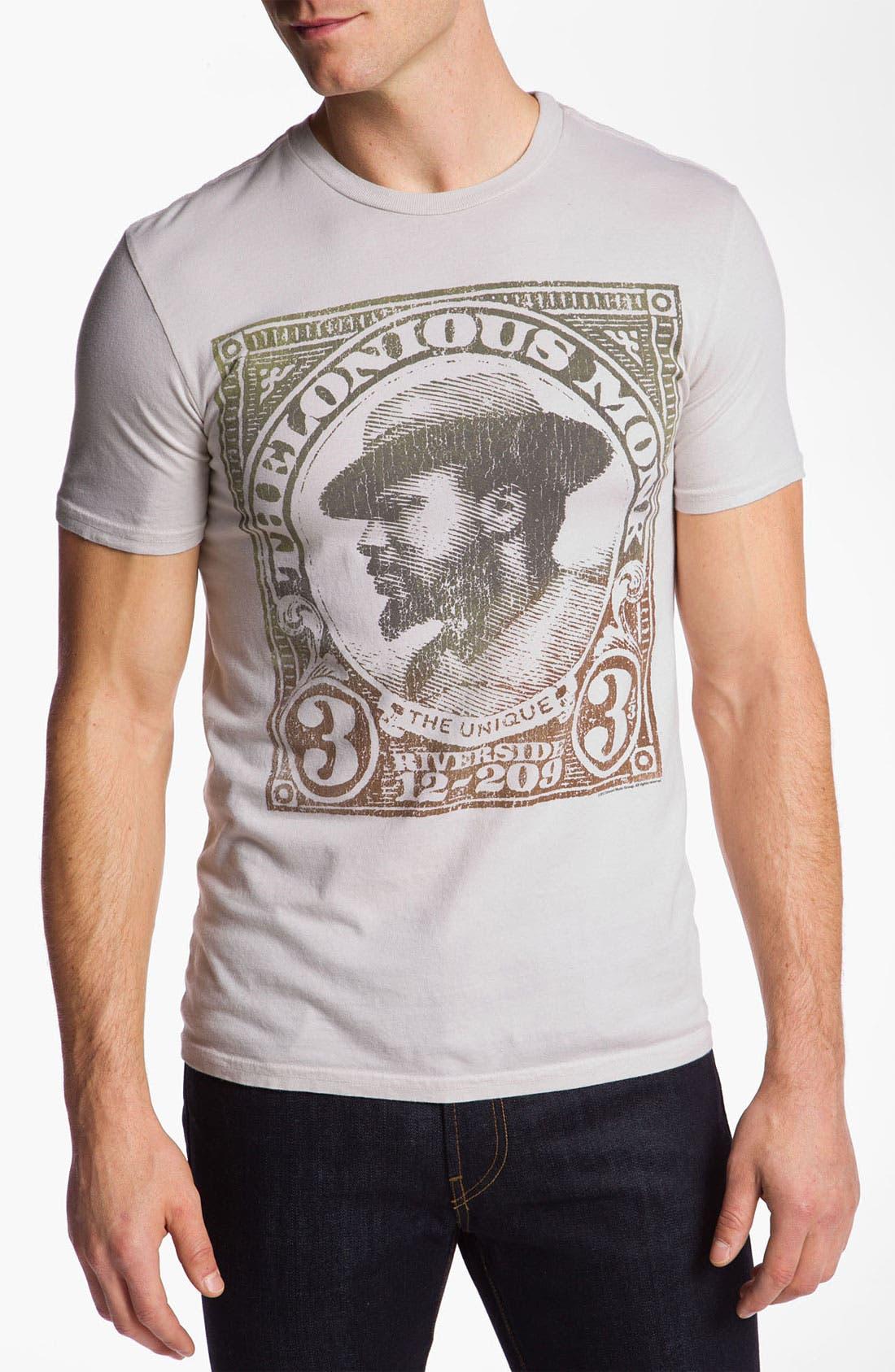 'The Unique Thelonius Monk' Crewneck T-Shirt,                             Main thumbnail 1, color,                             050
