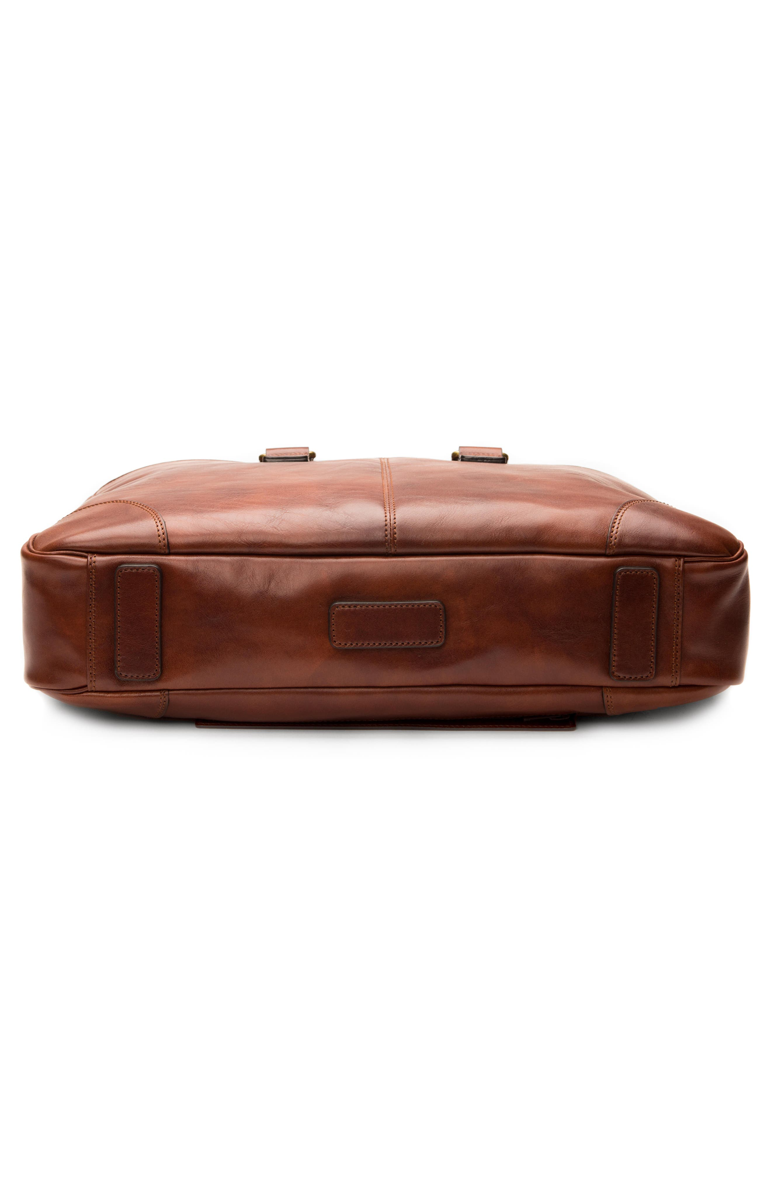 Leather Briefcase,                             Alternate thumbnail 5, color,                             200