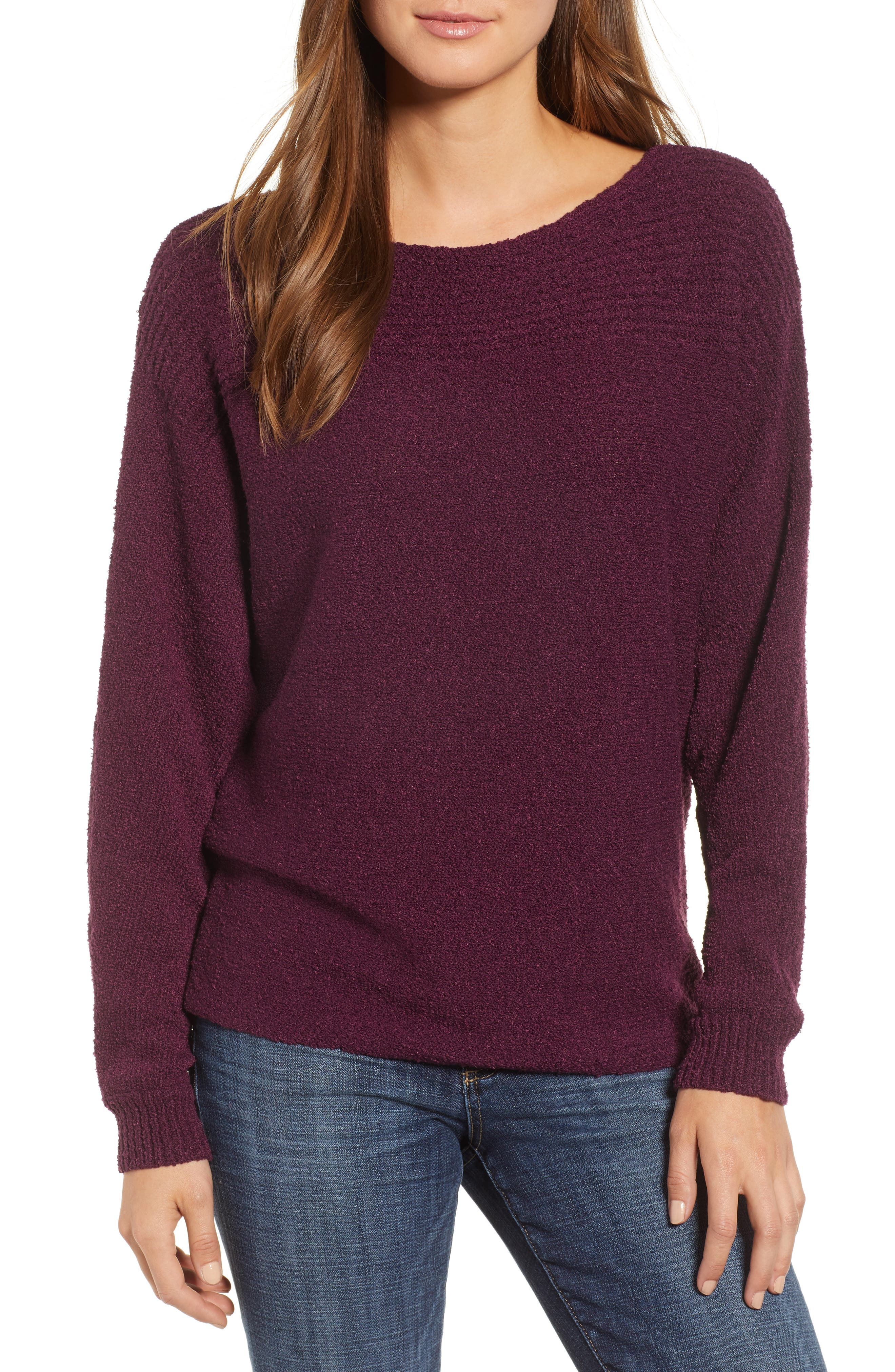 Calson<sup>®</sup> Dolman Sleeve Sweater,                             Main thumbnail 2, color,