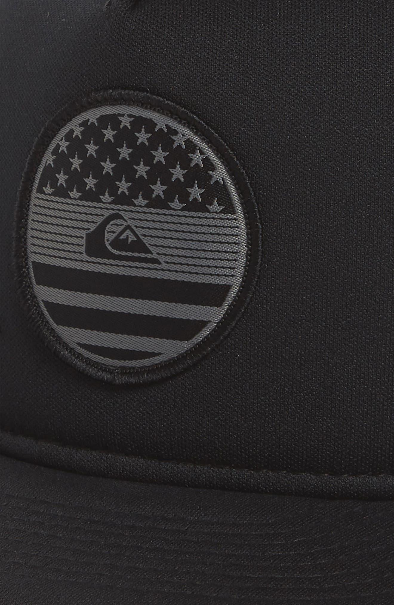 Flag Trucker Hat,                             Alternate thumbnail 5, color,