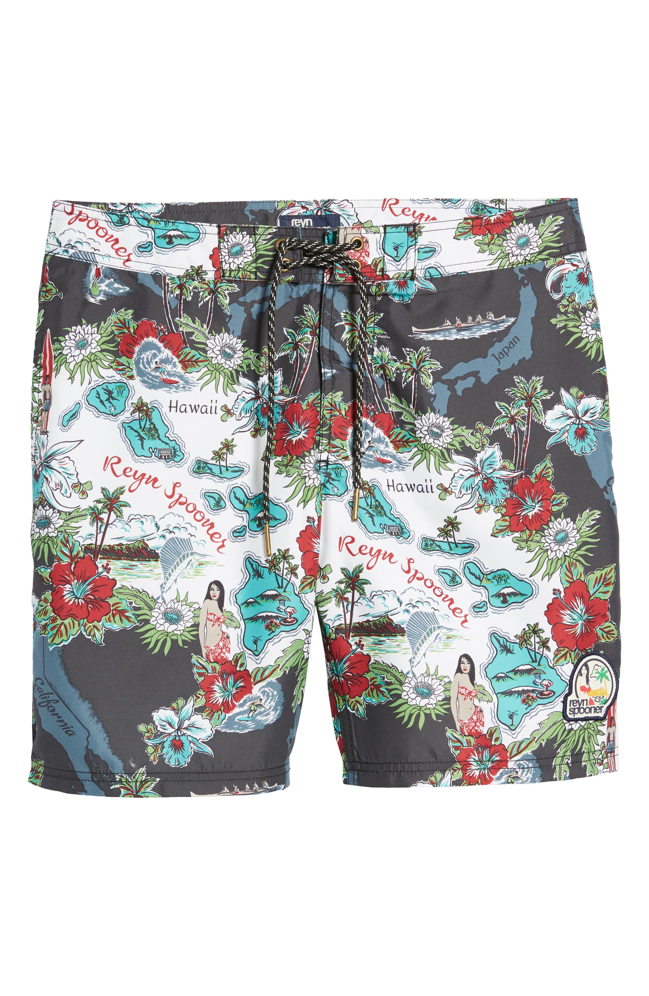 Status Oceanic Regular Fit Board Shorts,                             Alternate thumbnail 11, color,