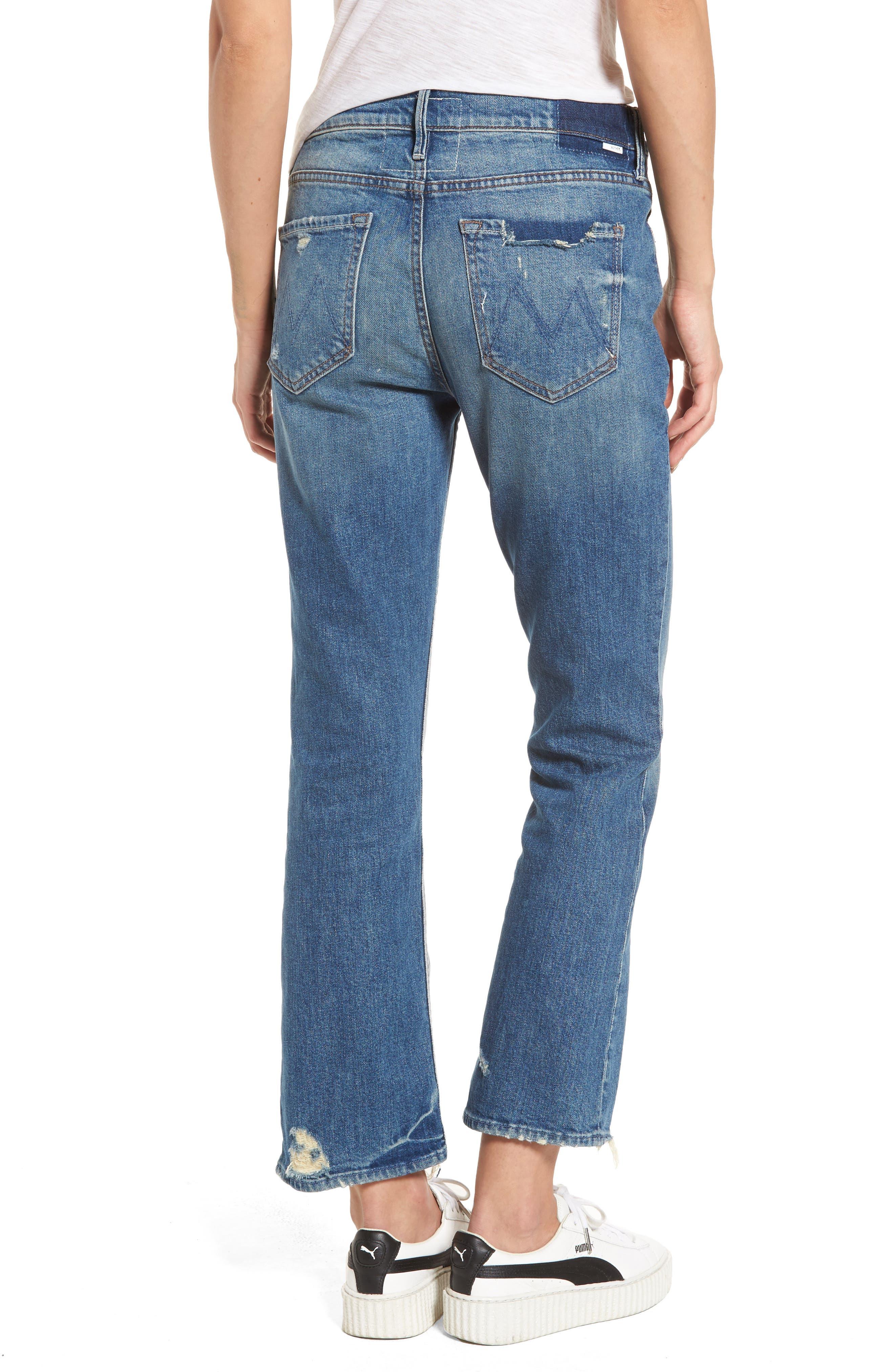 The Dutchie Crop Straight Leg Jeans,                             Alternate thumbnail 2, color,                             413