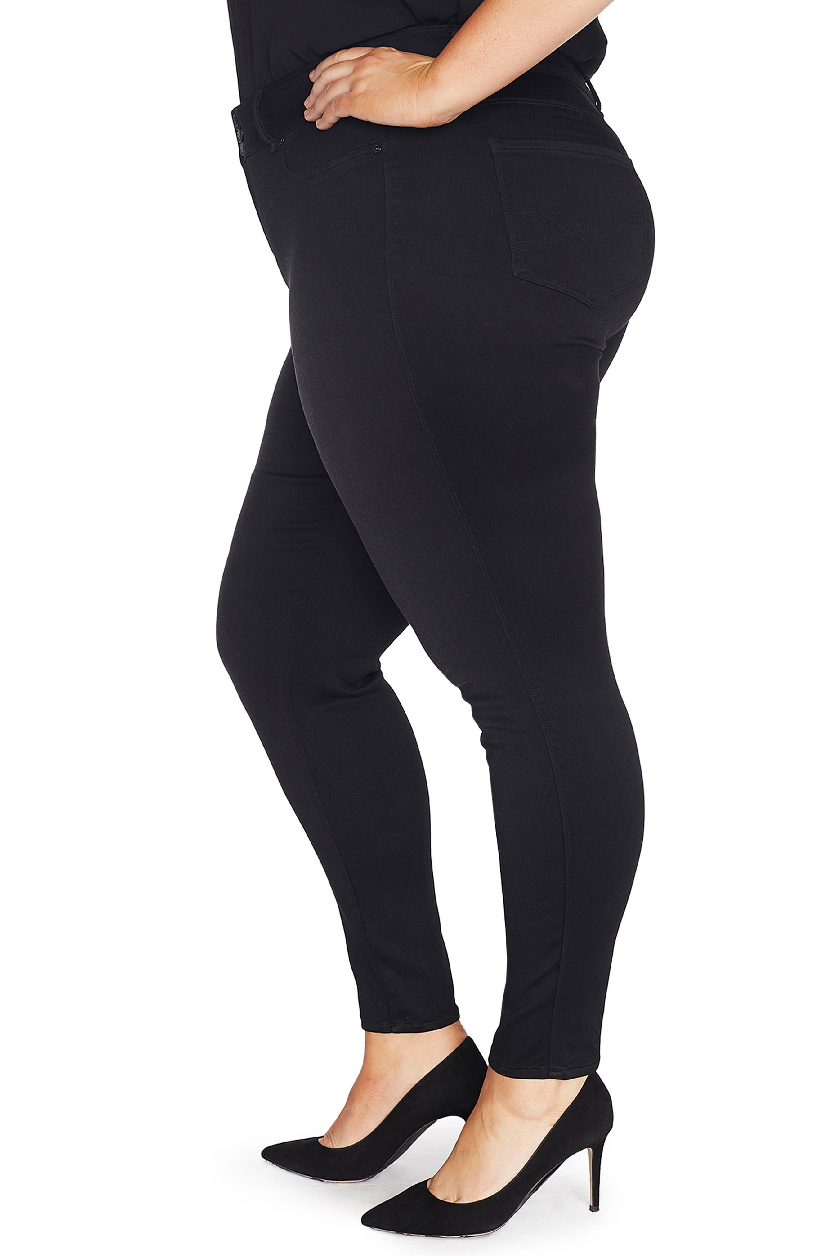 The Mogul Mid Rise Super Skinny Jeans,                             Alternate thumbnail 3, color,                             SUMMIT