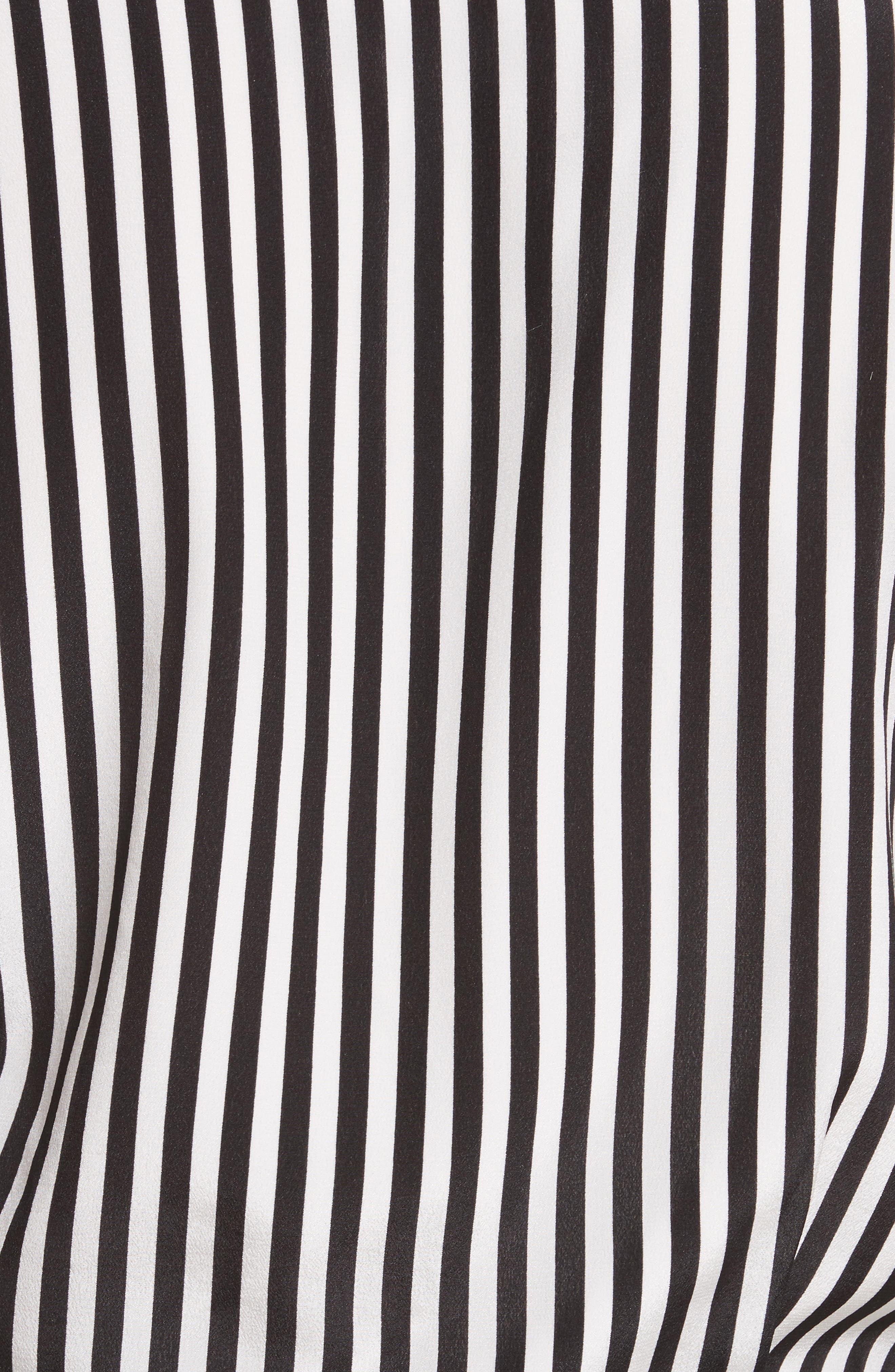Alba Tie-Waist Silk Blouse,                             Alternate thumbnail 5, color,