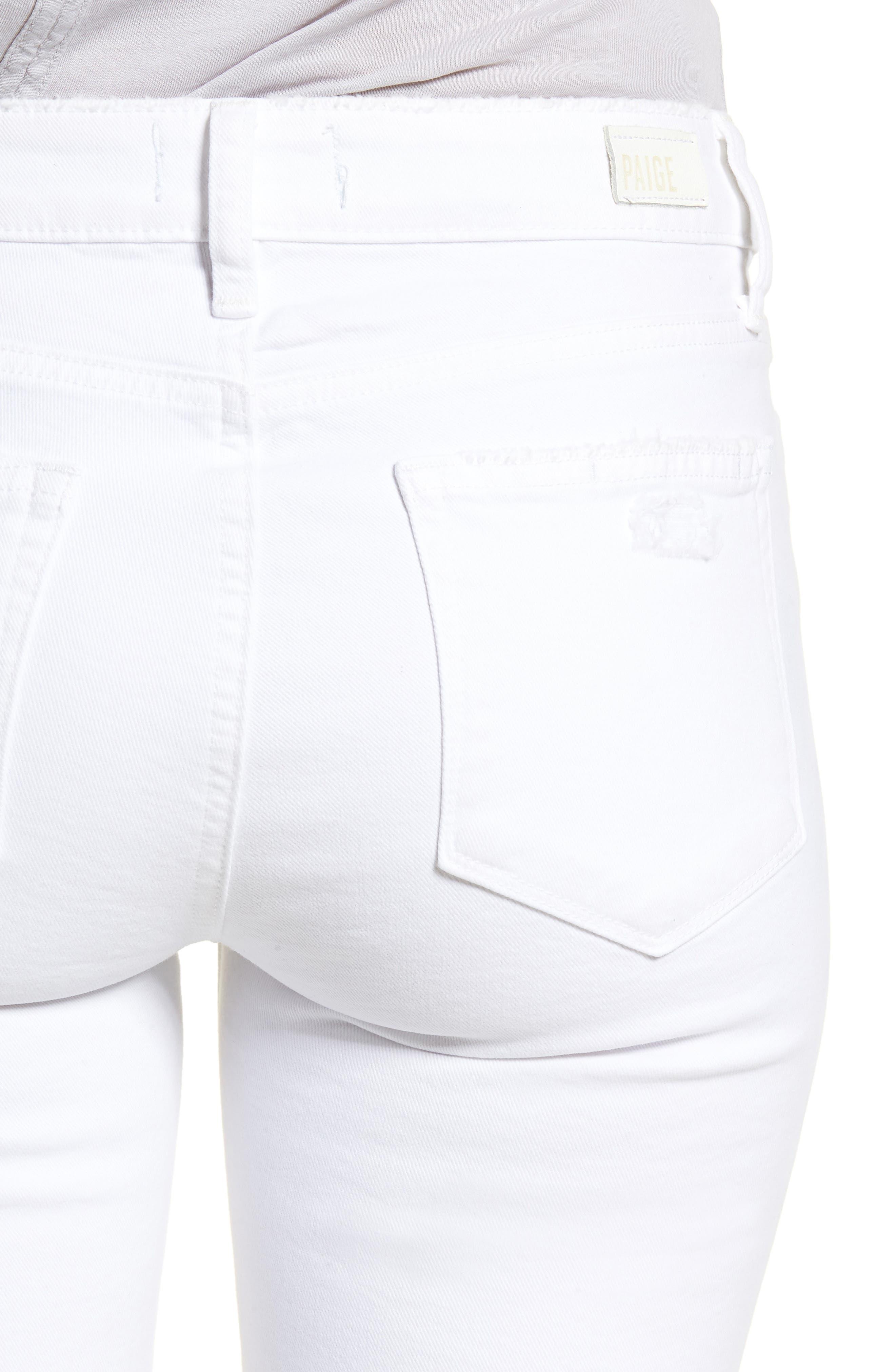 Verdugo Ripped Ultra Skinny Jeans,                             Alternate thumbnail 4, color,                             100