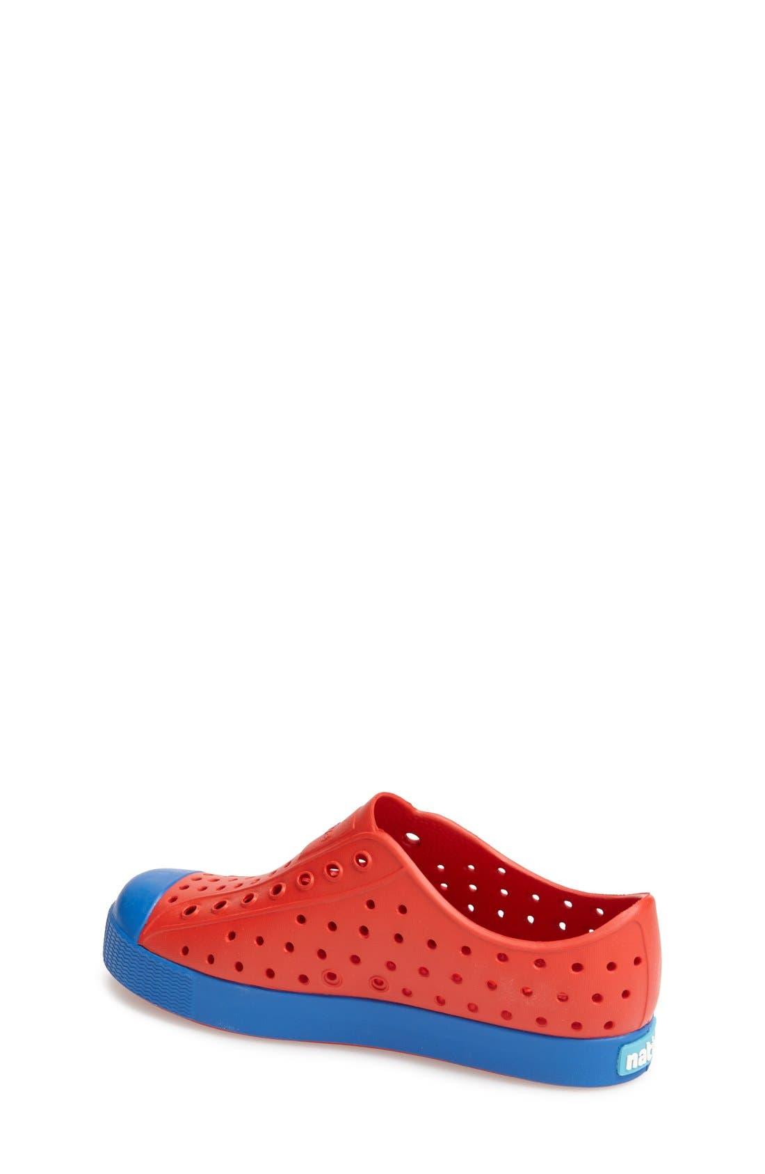 'Jefferson' Water Friendly Slip-On Sneaker,                             Alternate thumbnail 112, color,