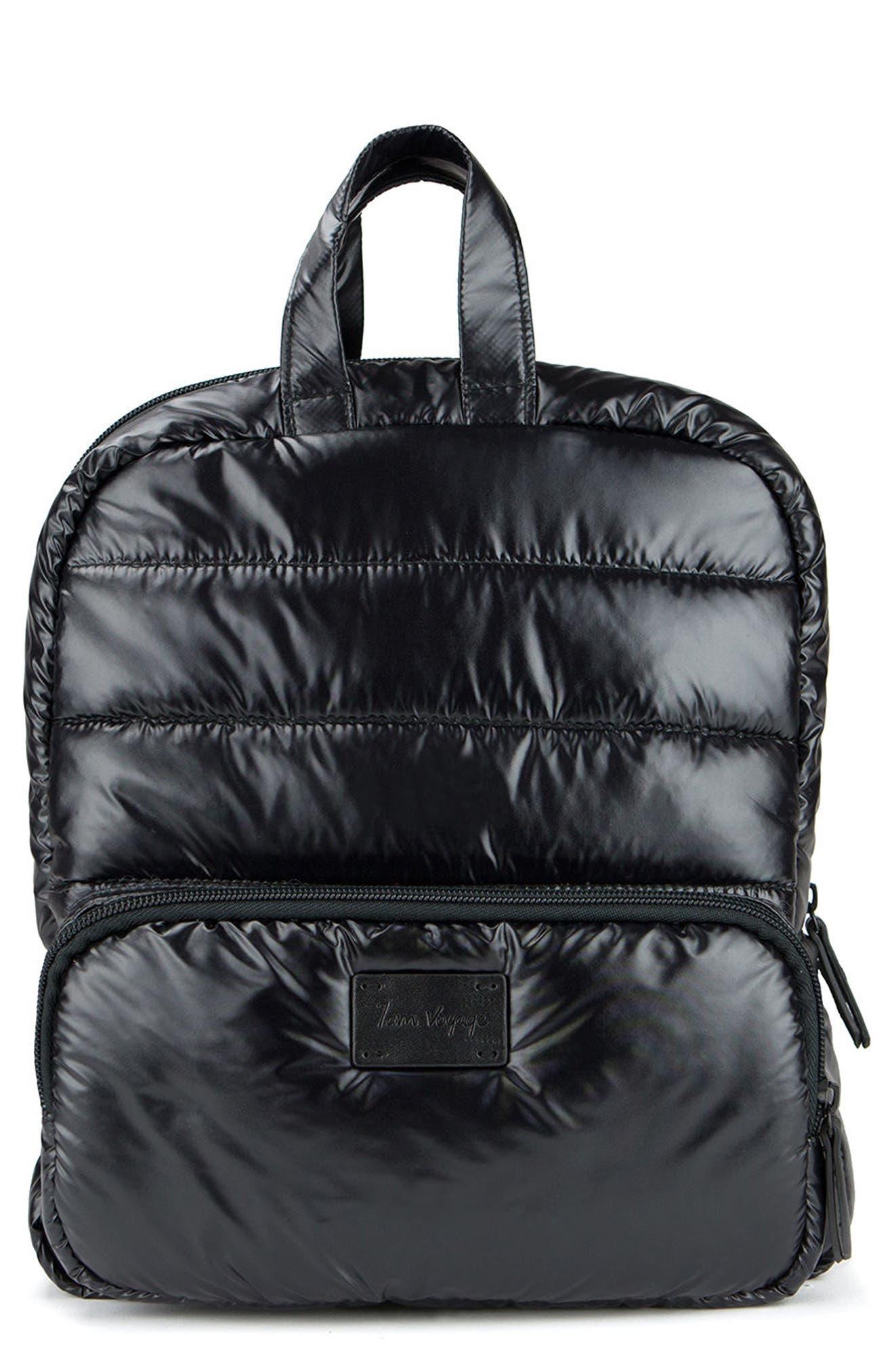 Mini Water Repellent Backpack,                             Main thumbnail 1, color,                             001
