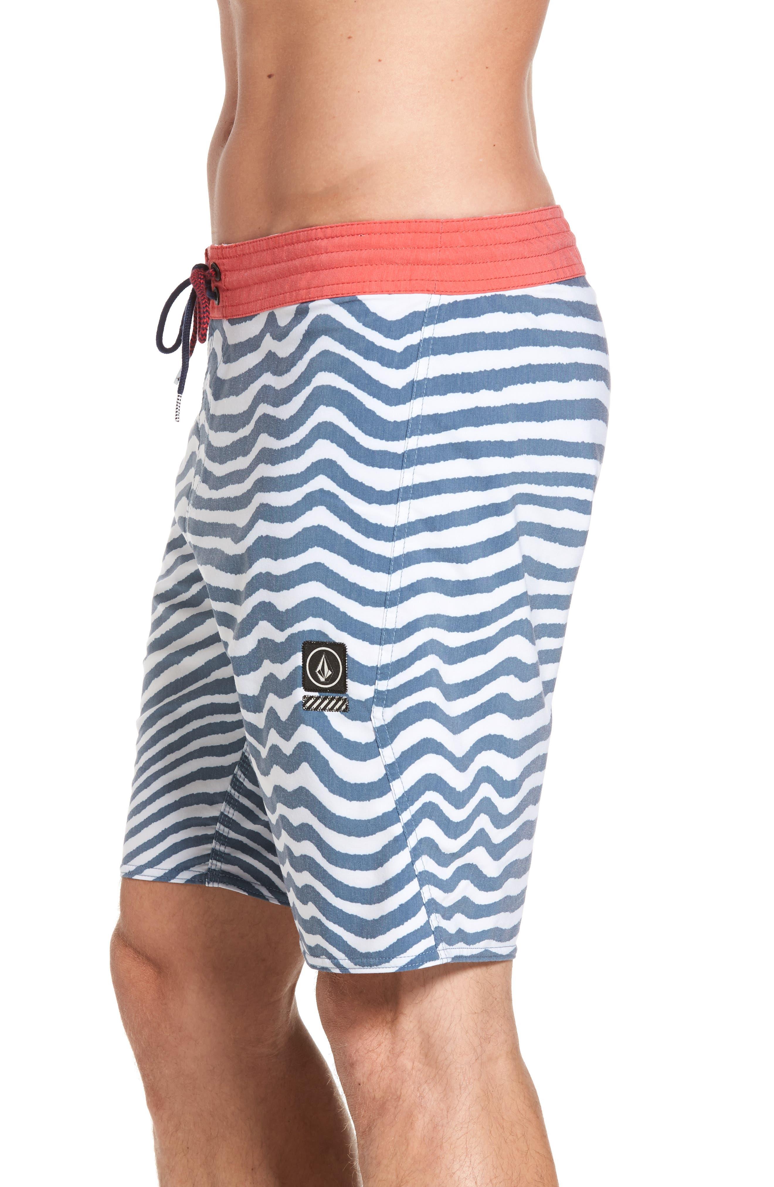 Stripey Slinger Board Shorts,                             Alternate thumbnail 21, color,