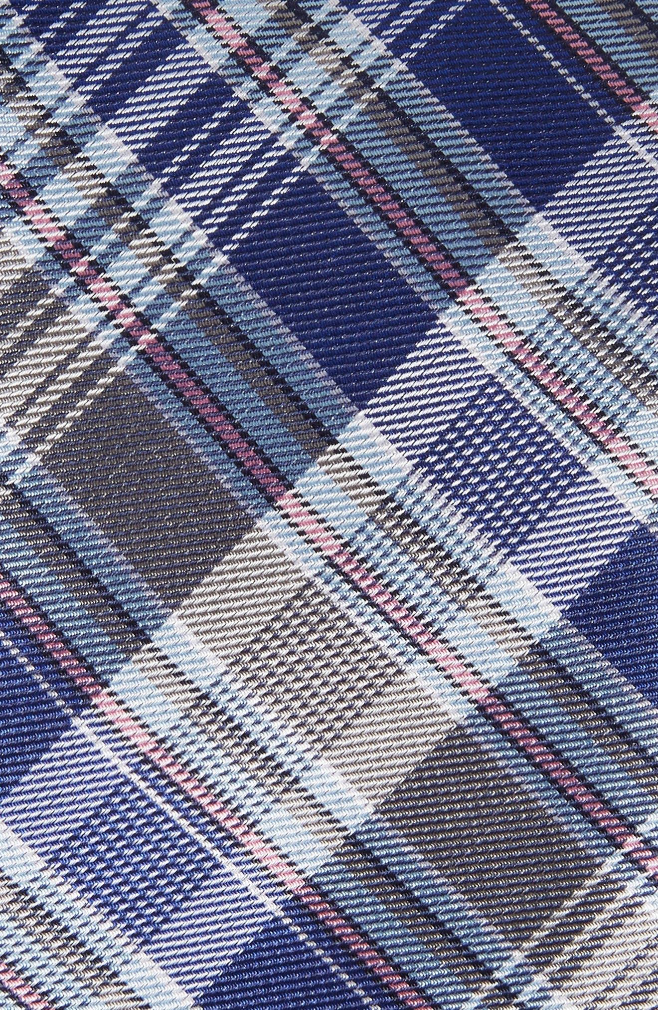 Sassafrass Plaid Silk Tie,                             Alternate thumbnail 9, color,