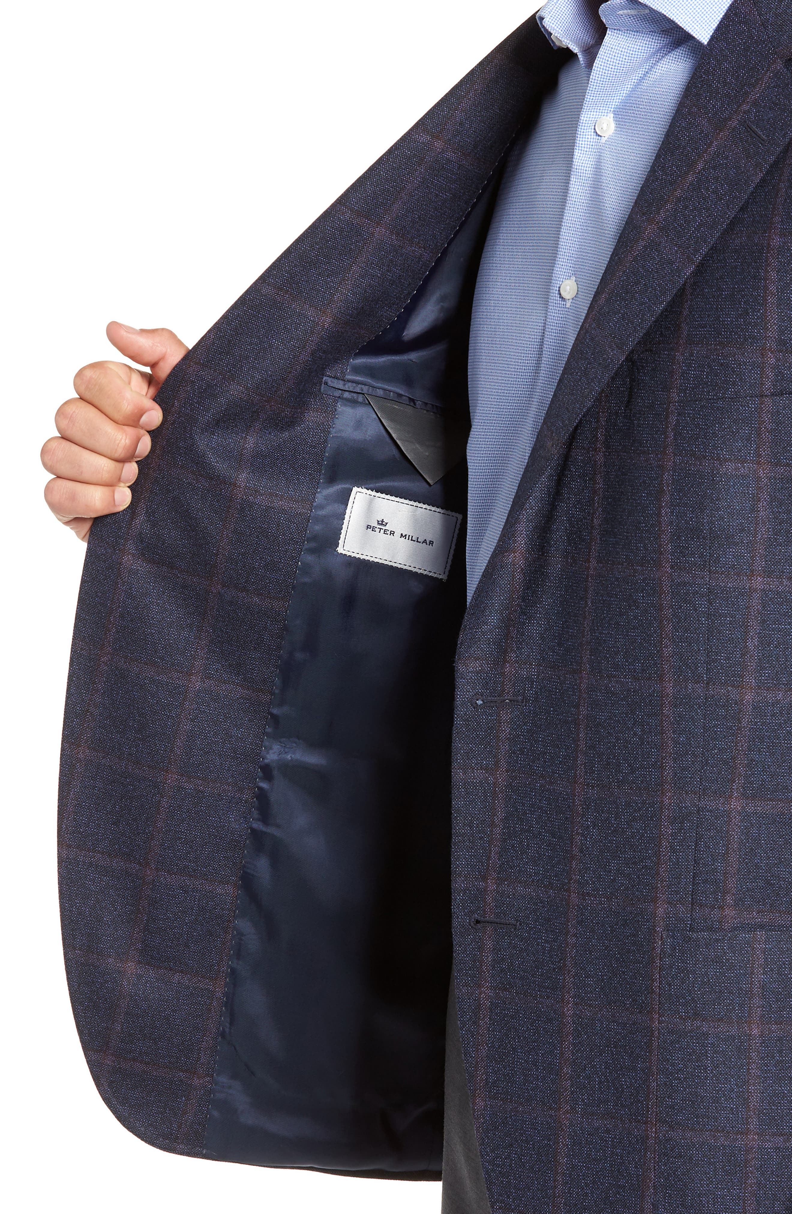 PETER MILLAR,                             Hyperlight Classic Fit Wool Sport Coat,                             Alternate thumbnail 4, color,                             410