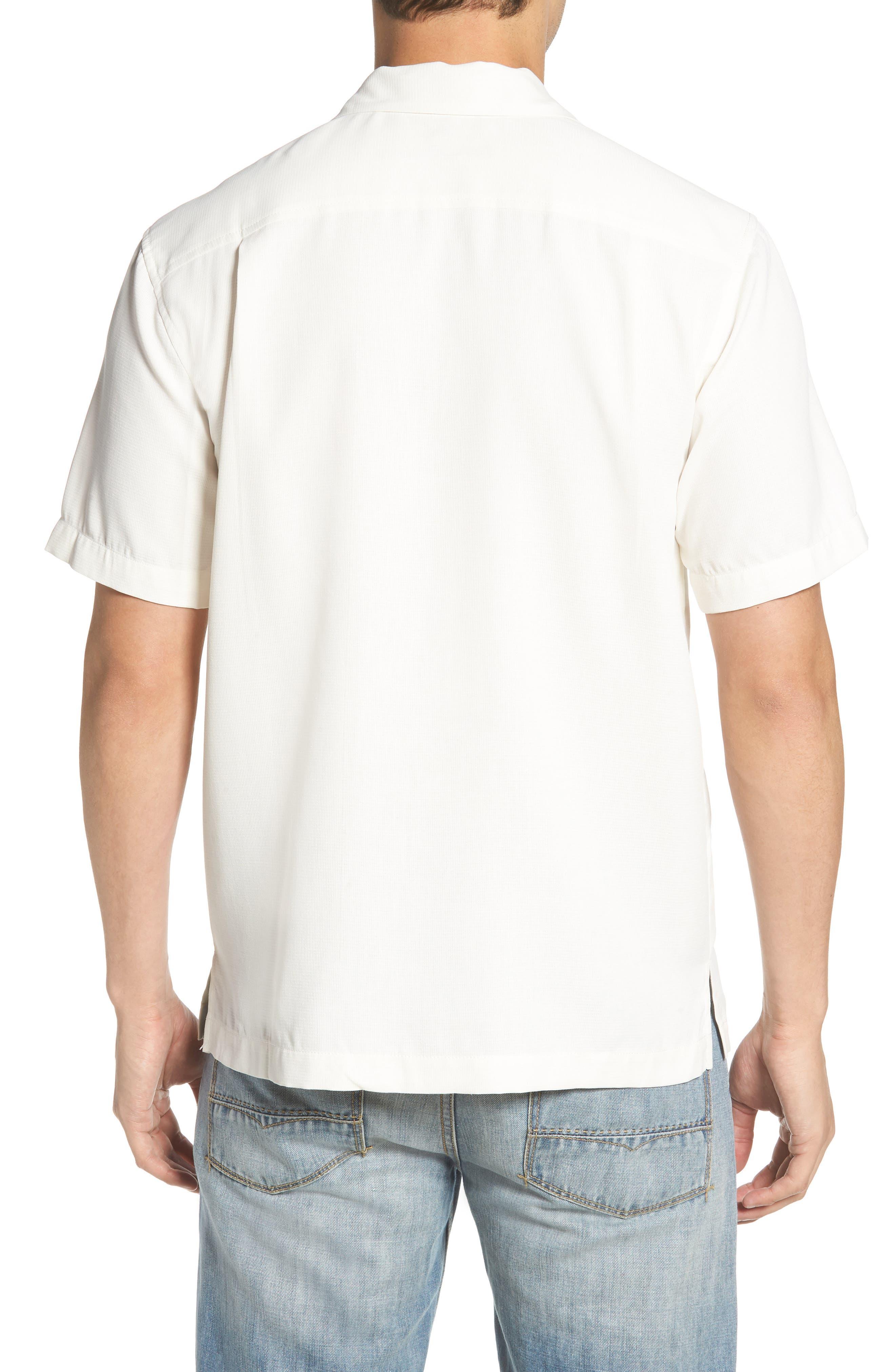 TOMMY BAHAMA,                             Royal Bermuda Silk Blend Camp Shirt,                             Alternate thumbnail 2, color,                             CONTINENTAL