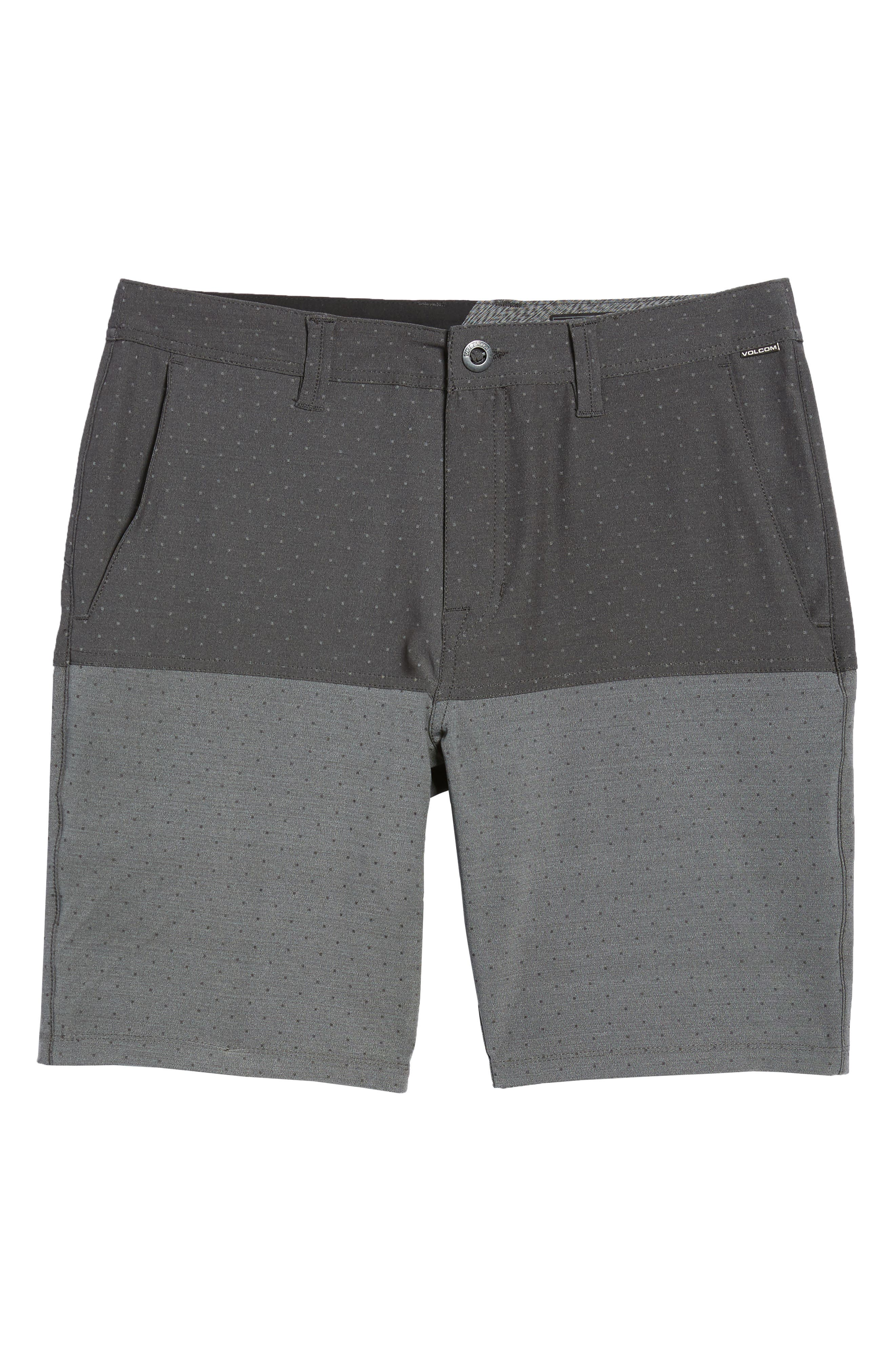 Surf N' Turf Block Hybrid Shorts,                             Alternate thumbnail 6, color,                             001